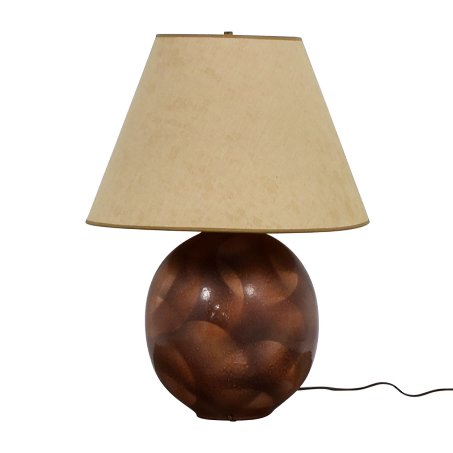 buy Brown and Tan Lamp online