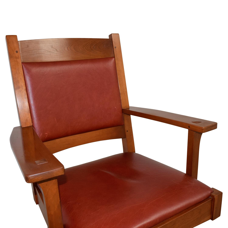76 Off Stickley Furniture Stickley Furniture Red