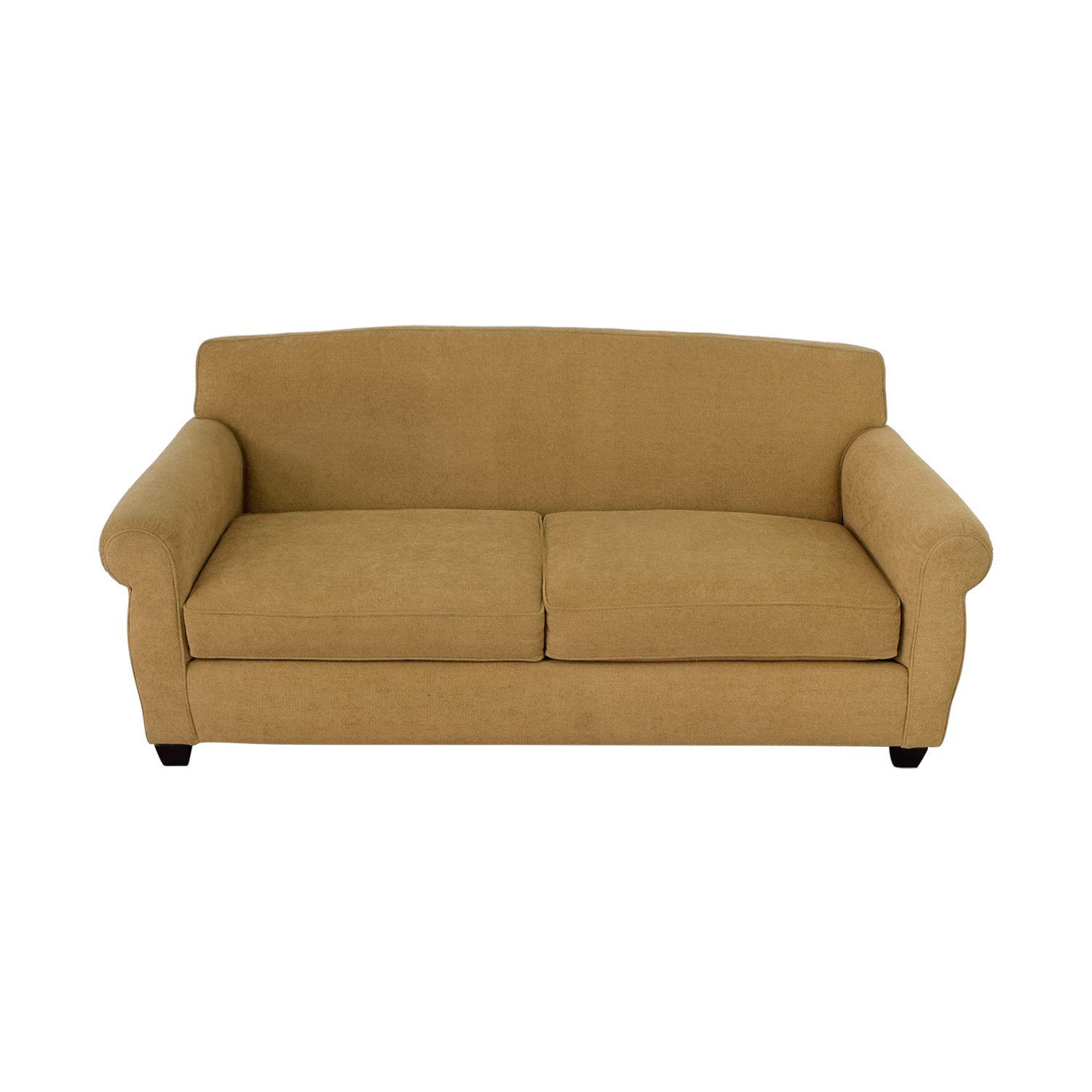 buy Thomasville Tan Two-Cushion Sofa Thomasville Sofas
