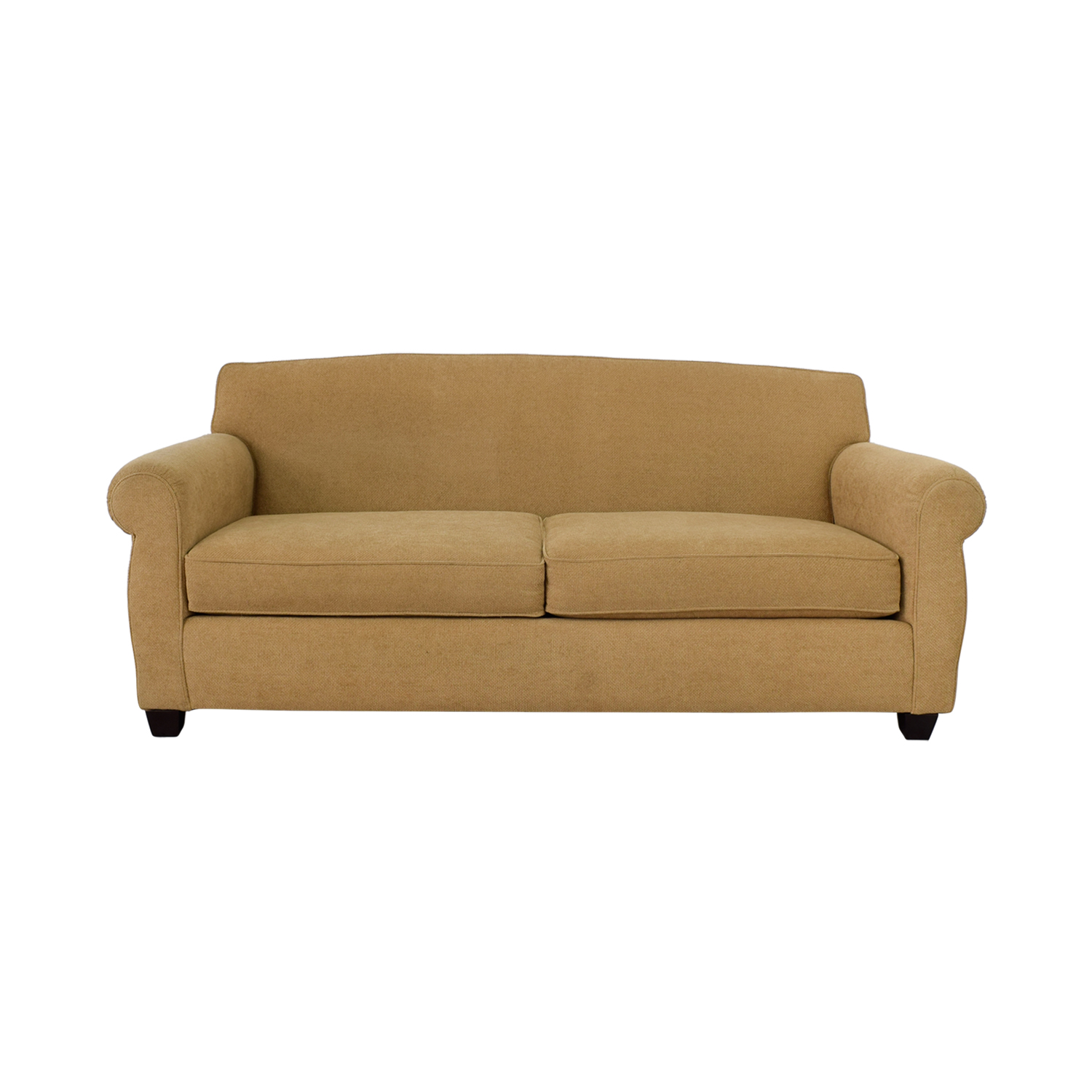 Thomasville Thomasville Tan Two-Cushion Sofa for sale