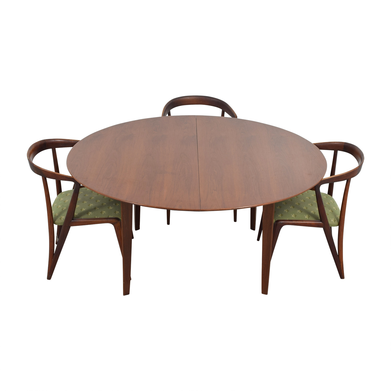 shop Dunbar Dunbar Mid-Century Two-Leaf Extention Dining Set online