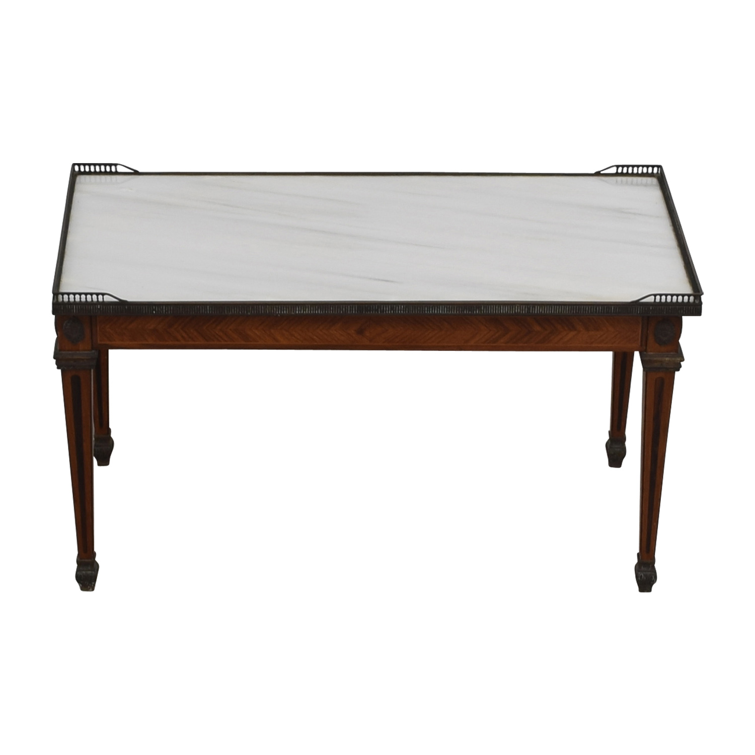Antique Marble Coffee Table Tables
