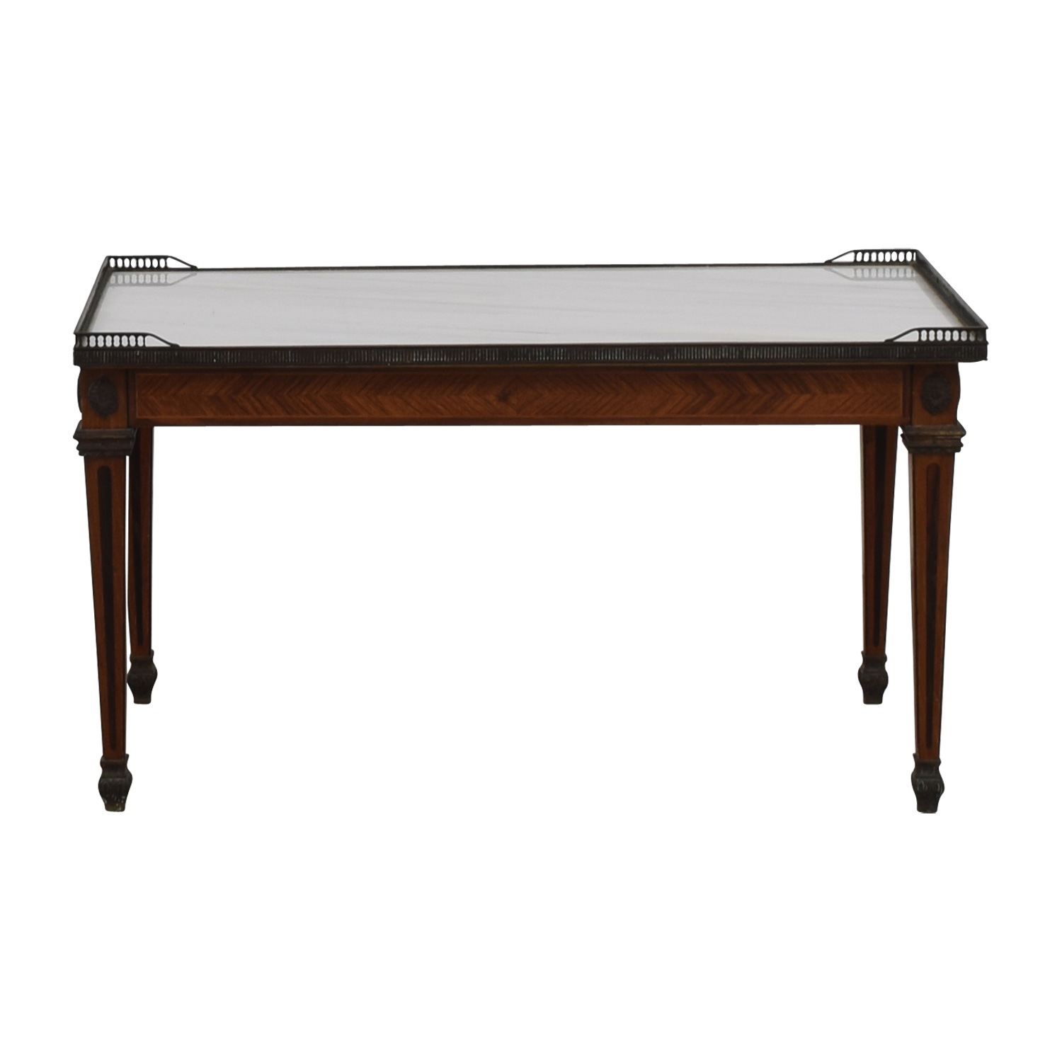 Antique Marble Coffee Table second hand