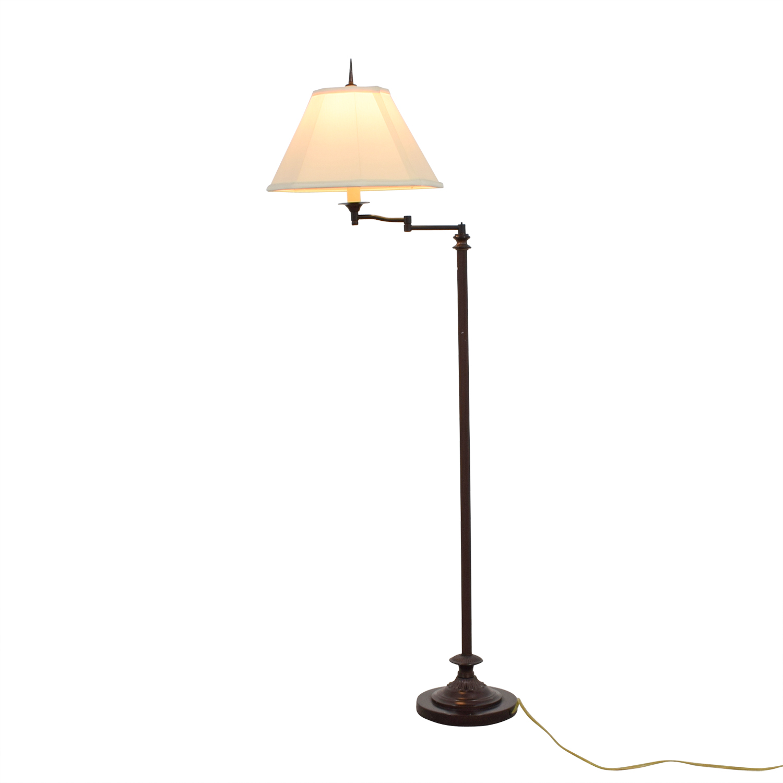 Good ... Gracious Home Brown Standing Lamp Gracious Home ...