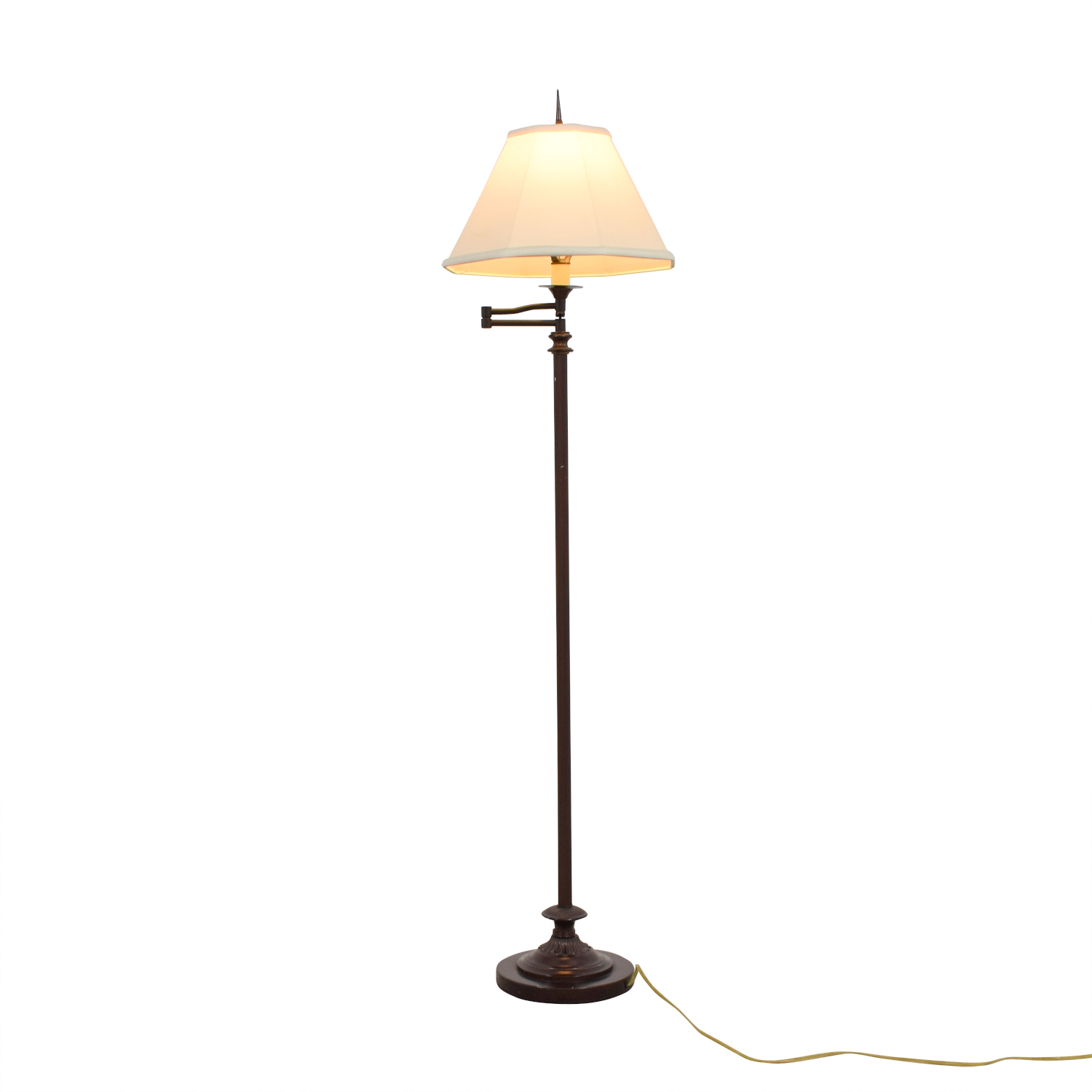 shop Gracious Home Gracious Home Brown Standing Lamp online