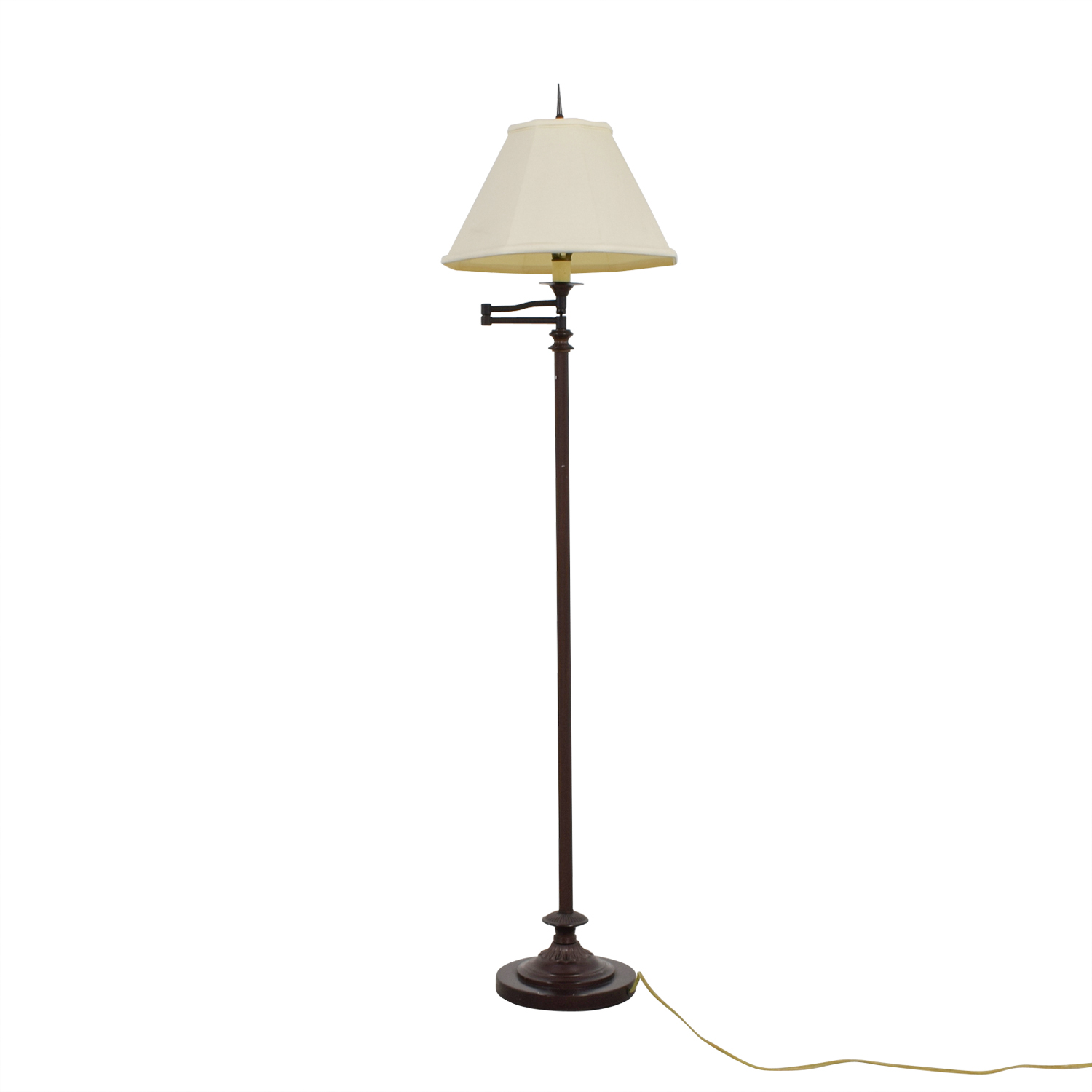 Gracious Home Brown Standing Lamp
