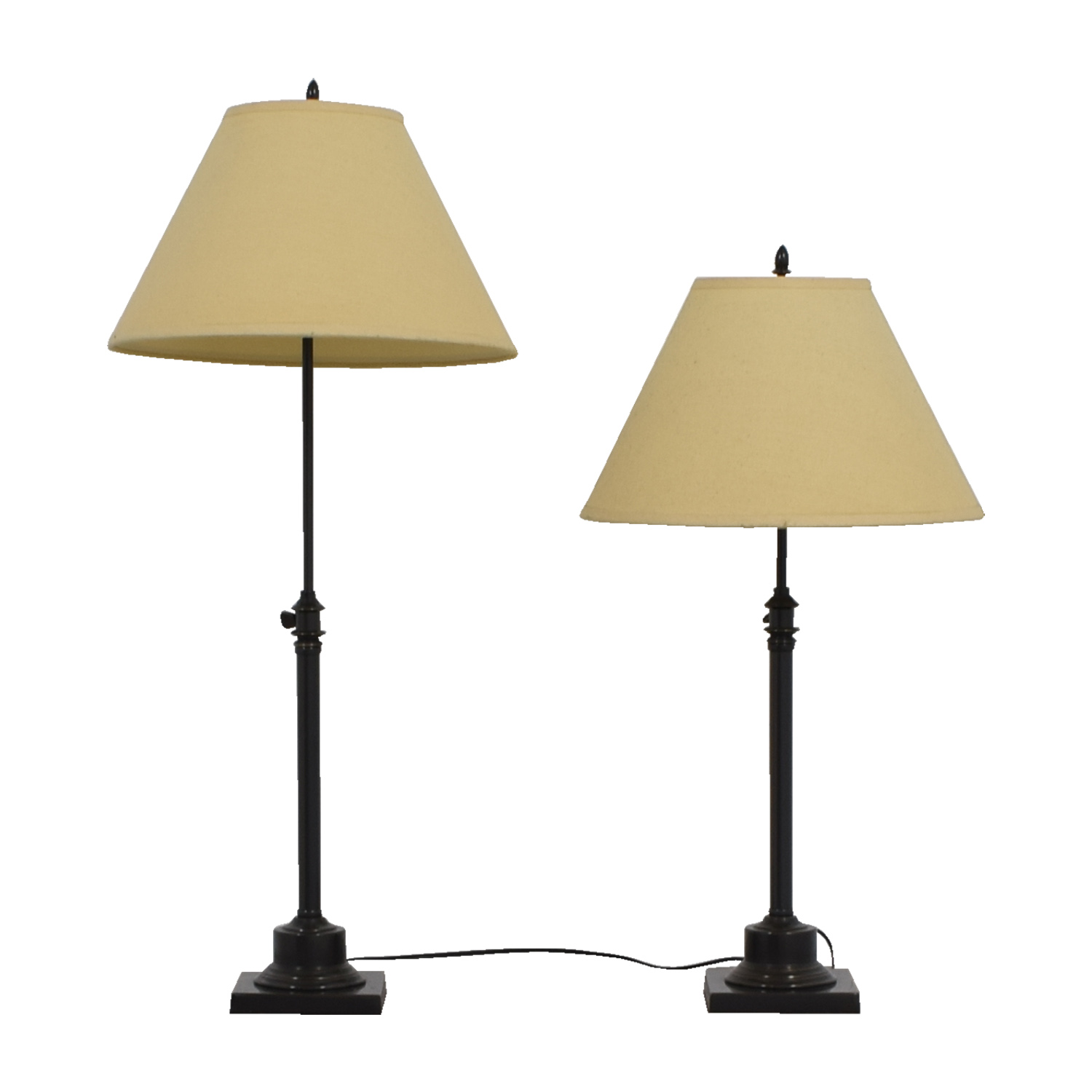 Elegant ... Gracious Home Gracious Home Side Lamps Used ...