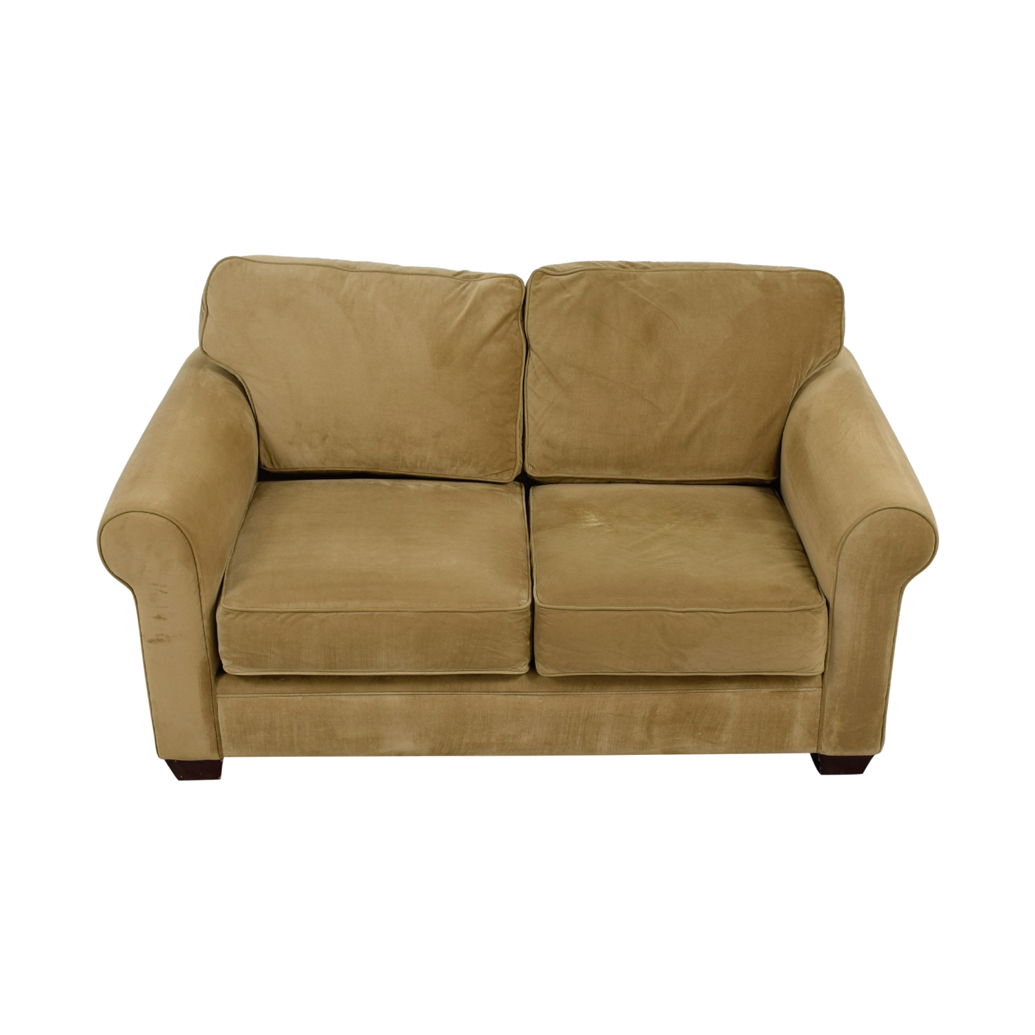 Macy's Macy's Tan Two-Cushion Loveseat Loveseats