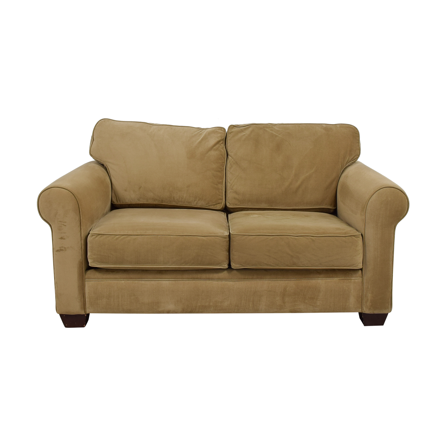 buy Macy's Tan Two-Cushion Loveseat Macy's Loveseats