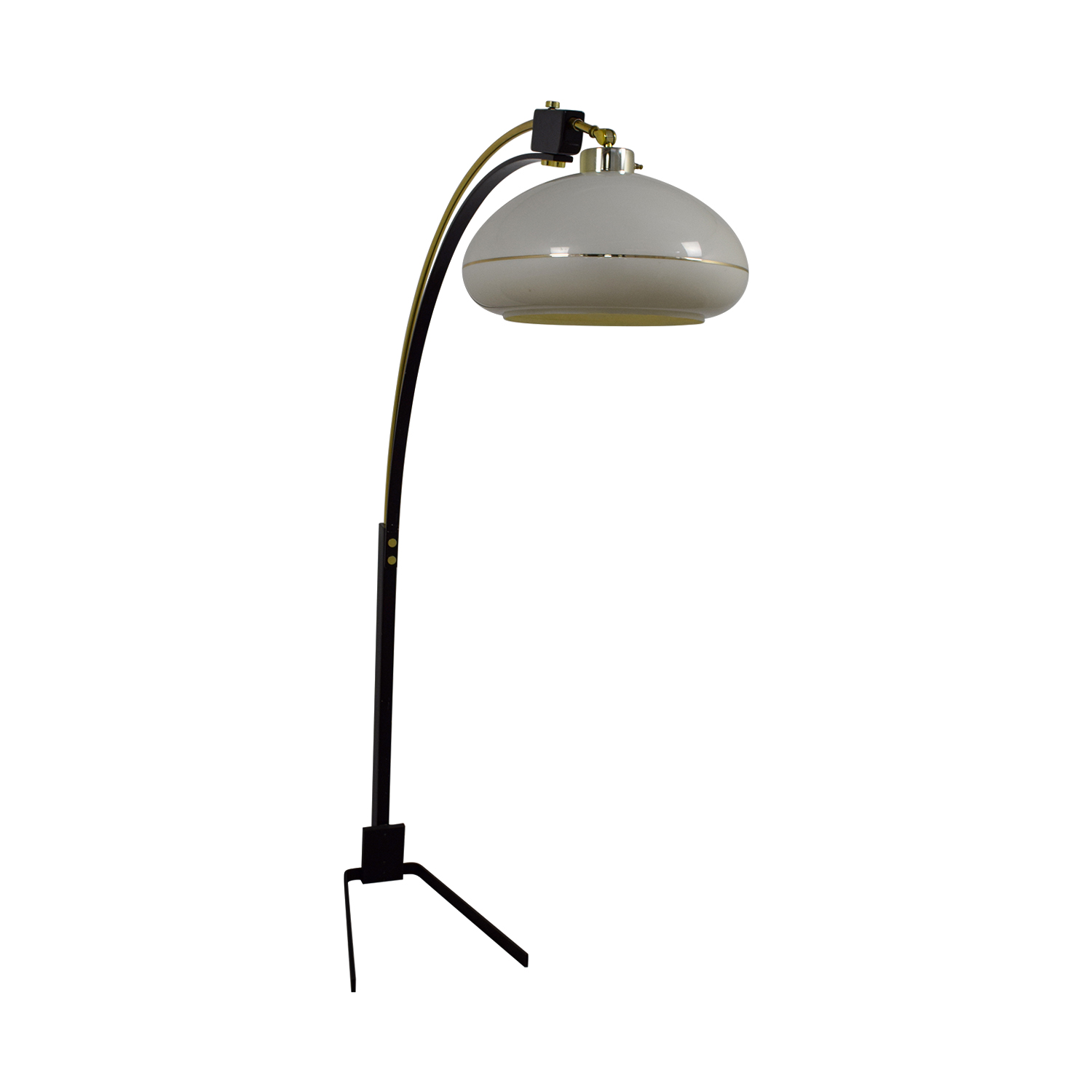 ba3a4168ff5e 58% OFF - Mid-Century Arched Floor Lamp   Decor