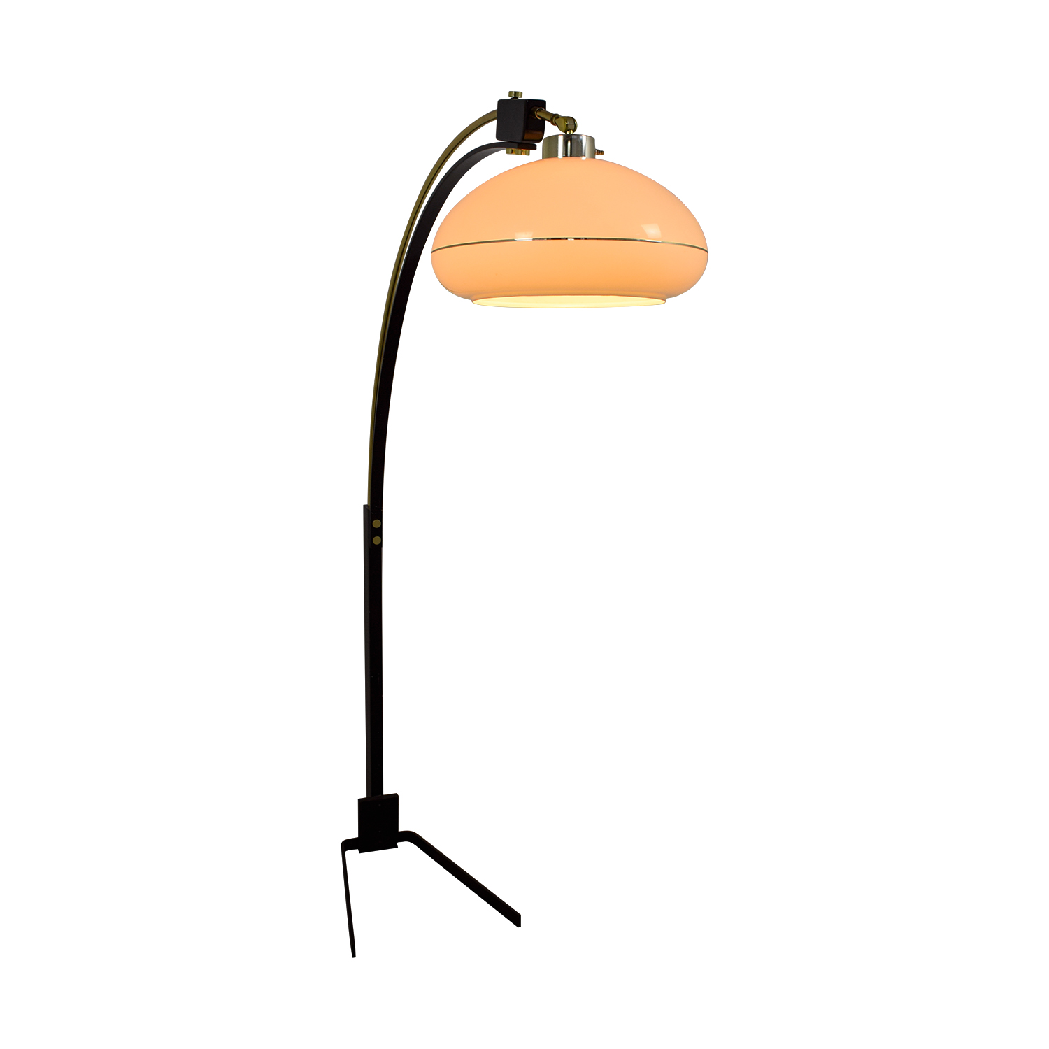 Mid-Century Arched Floor Lamp Decor