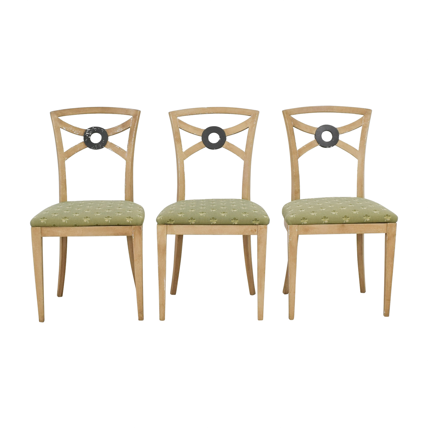 shop Painted Four Leaf Clover Chairs
