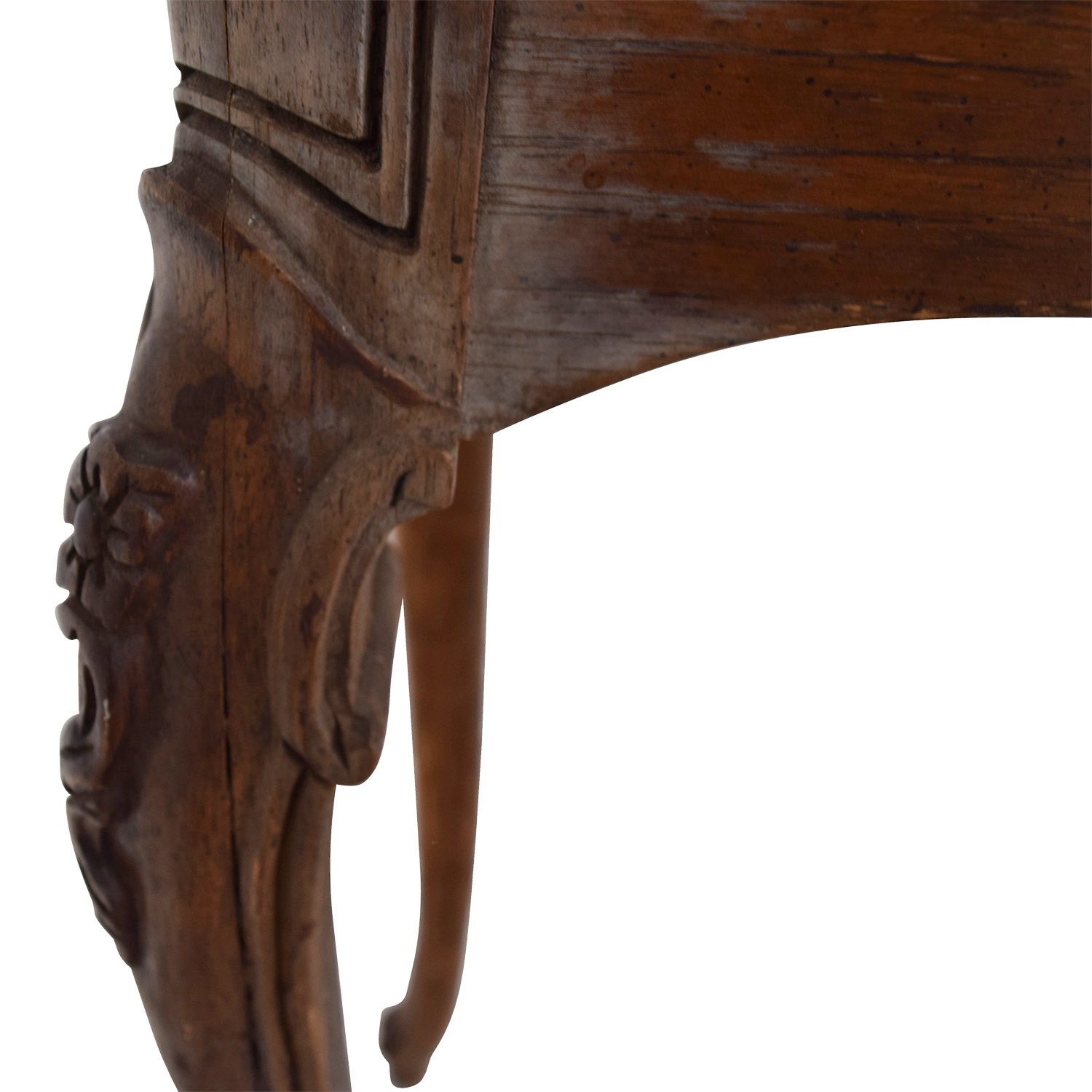 ... Antique Wood Couch Side Table for sale ... - 83% OFF - Antique Wood Couch Side Table / Tables
