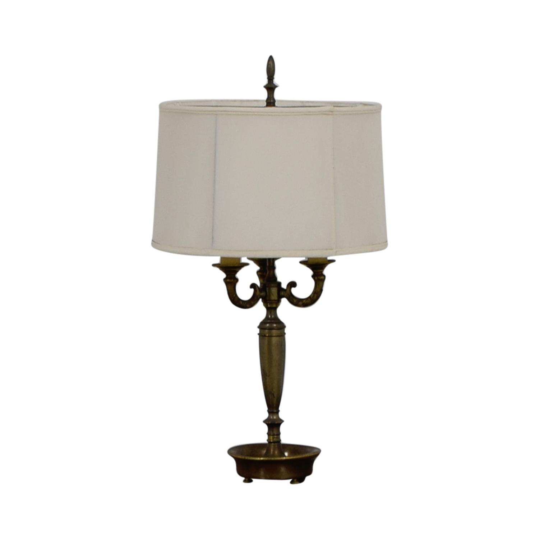 Brass Table Lamp Decor