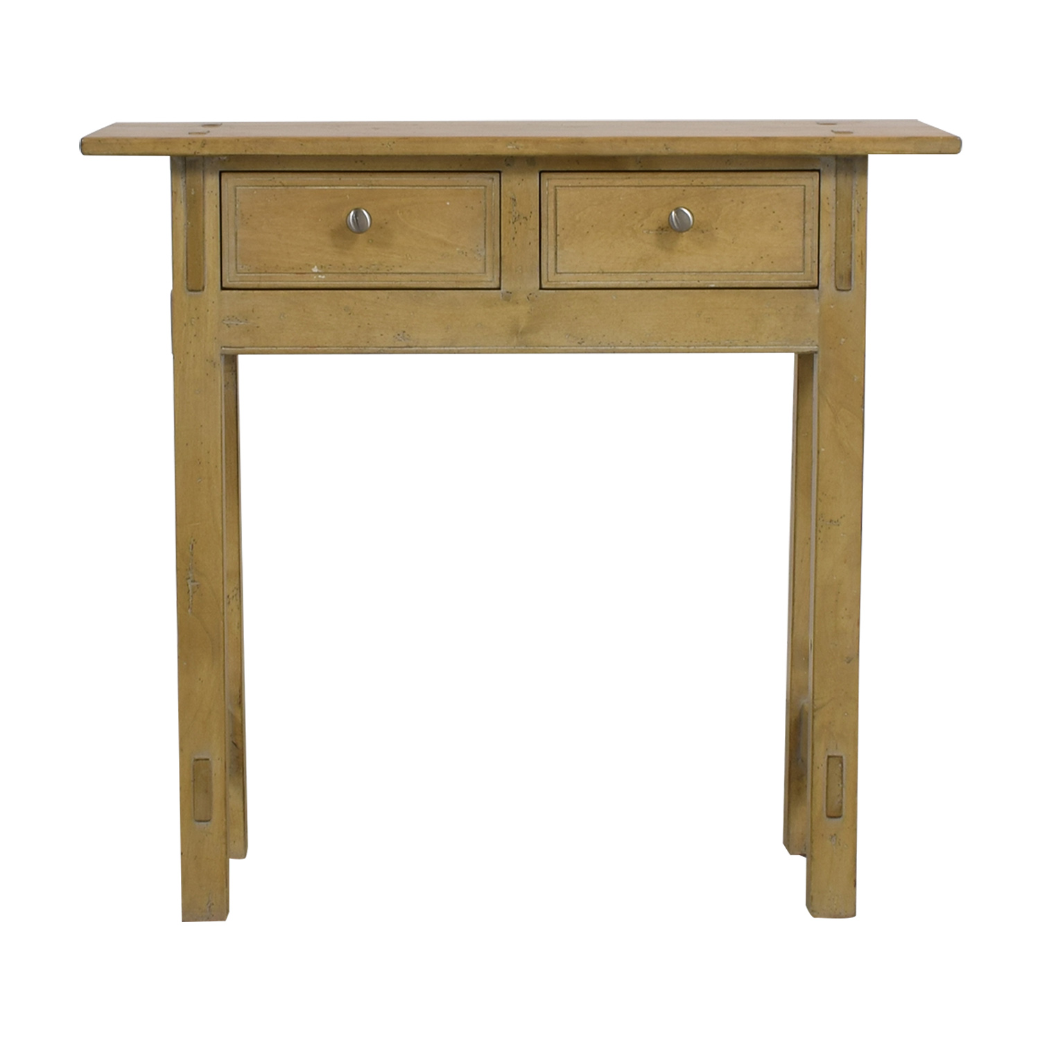 Shop Guy Chaddock U0026 Co Natural Rustic Accent Table Guy Chaddock ...