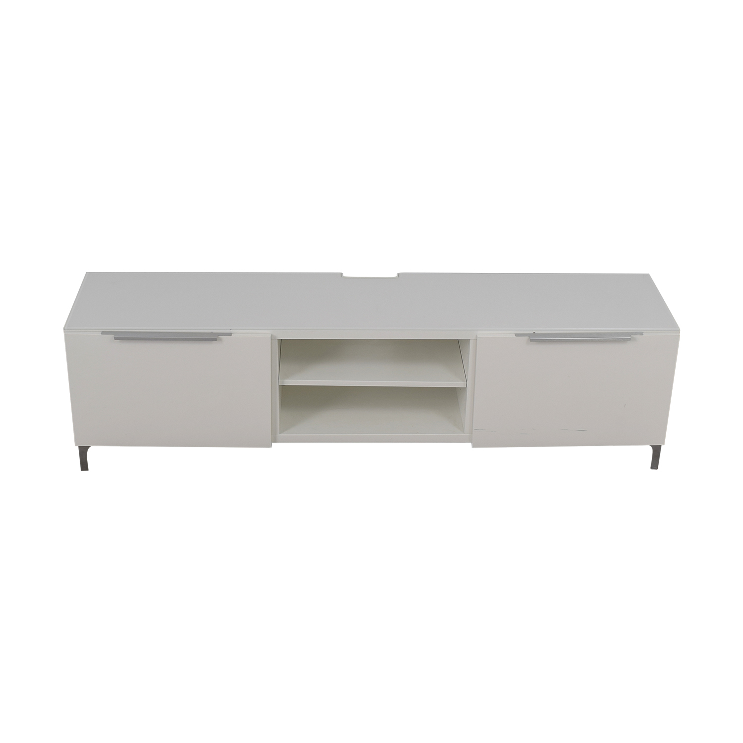 IKEA IKEA White Media Console used