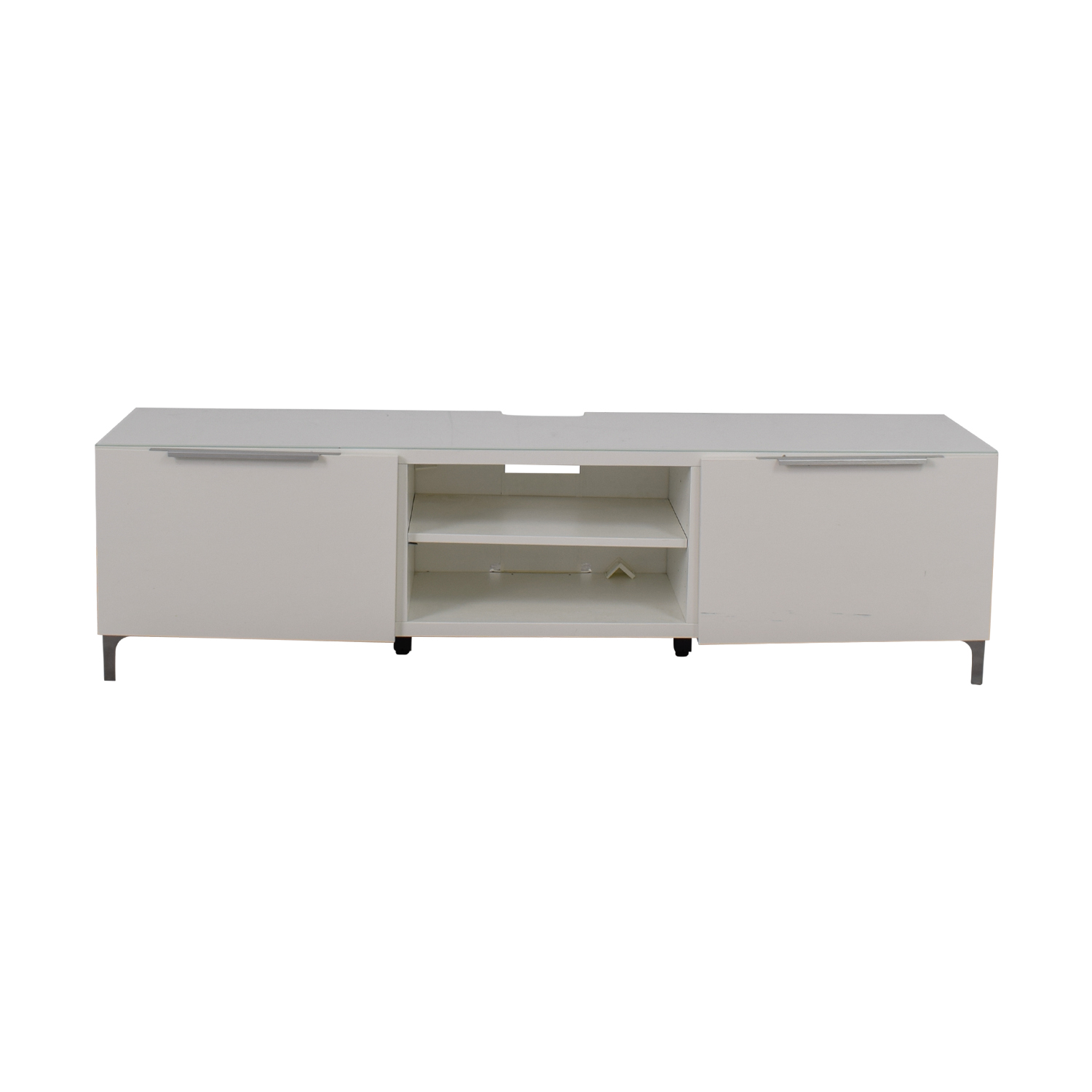 White media console coupon White media console
