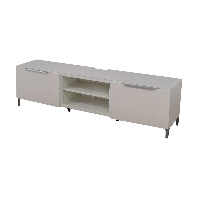 White Media Console Furniture. IKEA White Media Console On Sale Furniture B