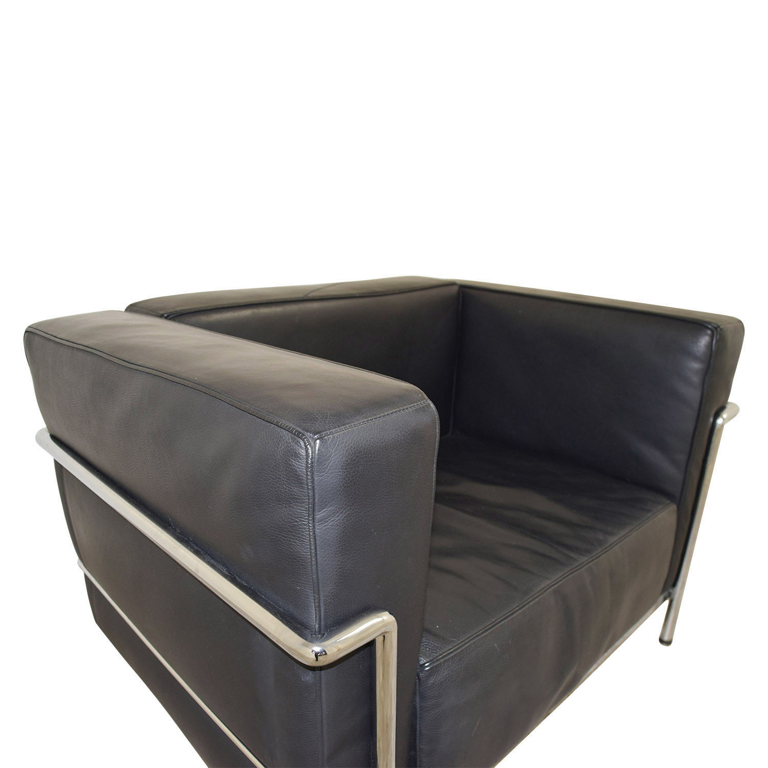 ... Buy Le Corbusier Replica Black Lounge Chair Chairs ...