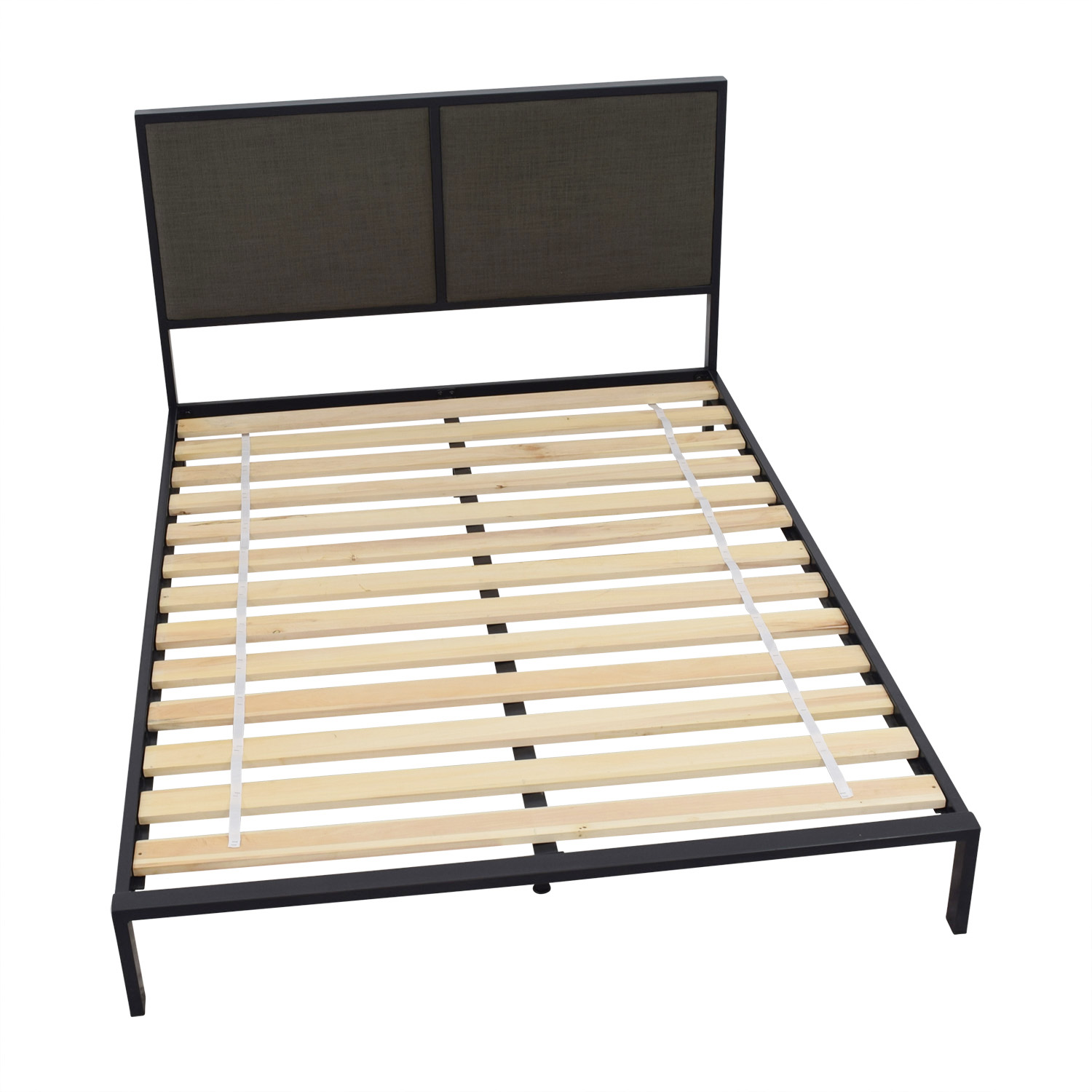 shop Crate & Barrel Crate & Barrel Oliver Full Platform Bed Frame online