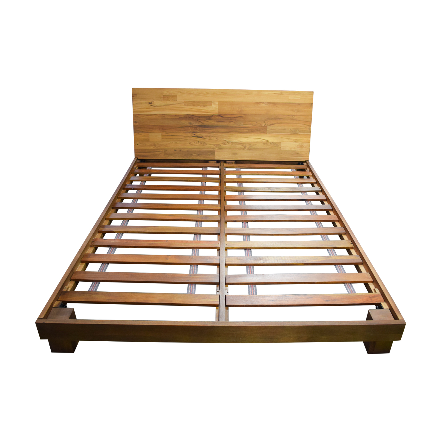 Dondra Dondra Teak Platform Queen Bed Frame on sale