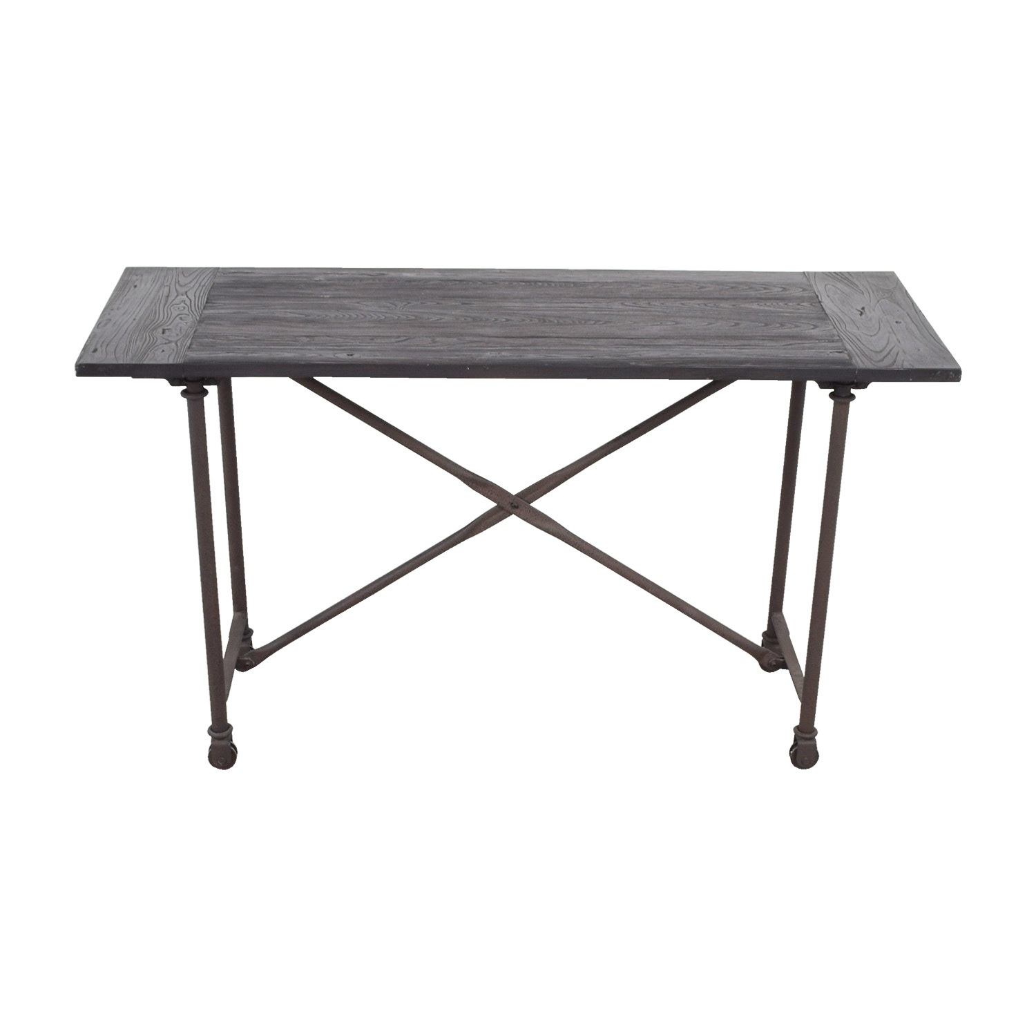 Restoration Hardware Restoration Hardware Flatiron Bar Table dimensions