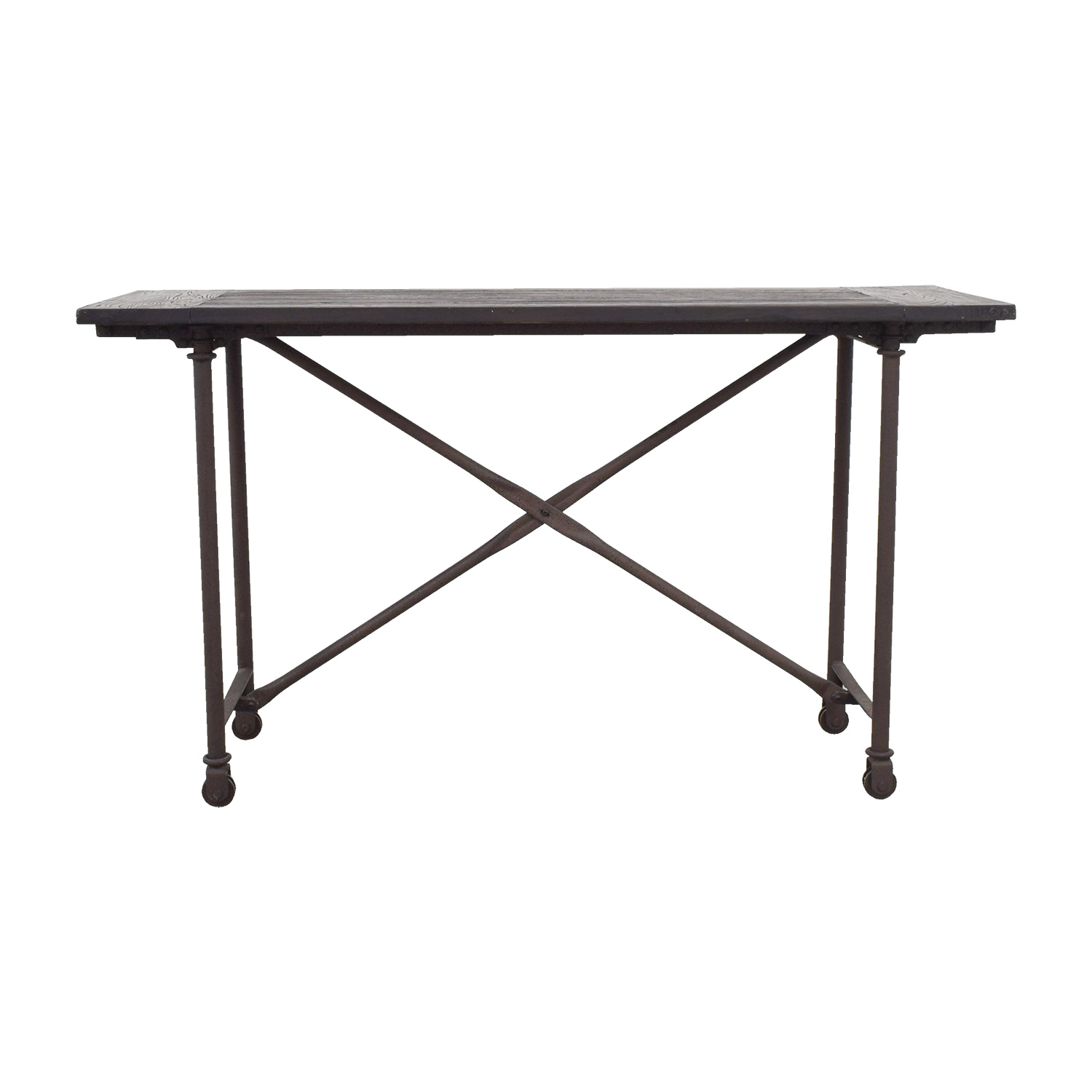 Restoration Hardware Flatiron Bar Table