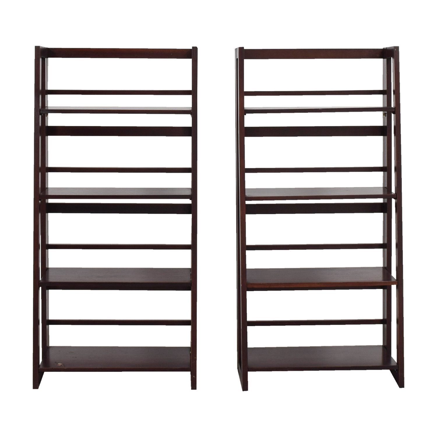 buy Crate & Barrel Crate & Barrel Cherry Bookcases online