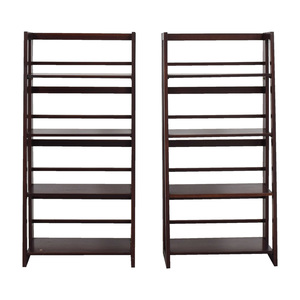 Crate & Barrel Crate & Barrel Cherry Bookcases used
