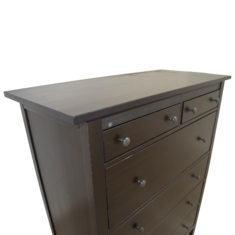 IKEA Hemnes Black Tall Dresser / Dressers