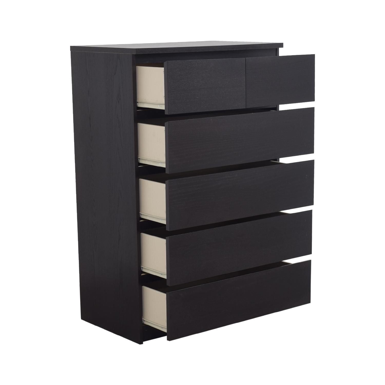 Ikea malm black dresser bestdressers 2017 for Ikea black malm
