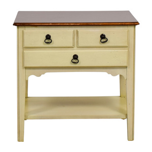 American of Martinsville American of Martinsville White Single Drawer Nightstand coupon