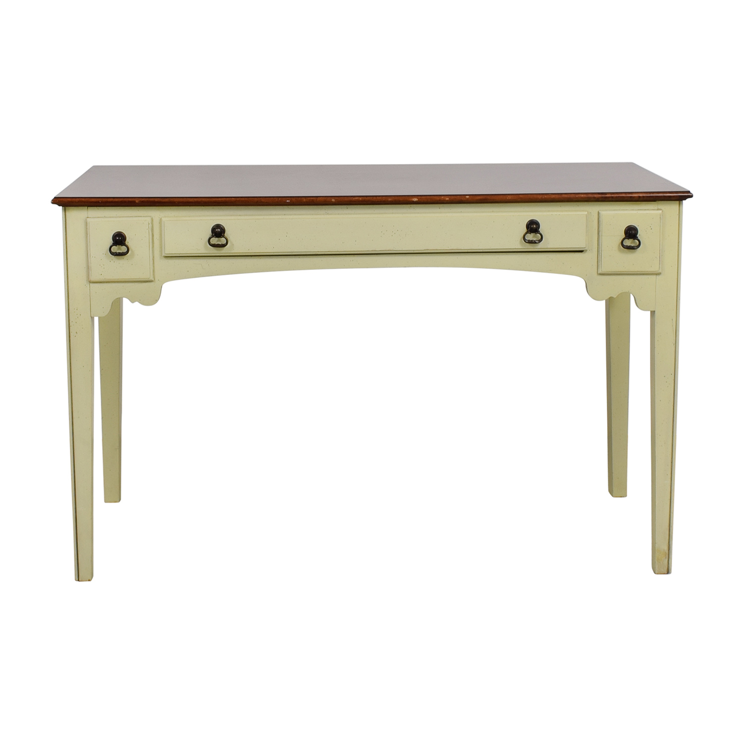 buy American of Martinsville American of Martinsville White Single Drawer Vanity Desk online