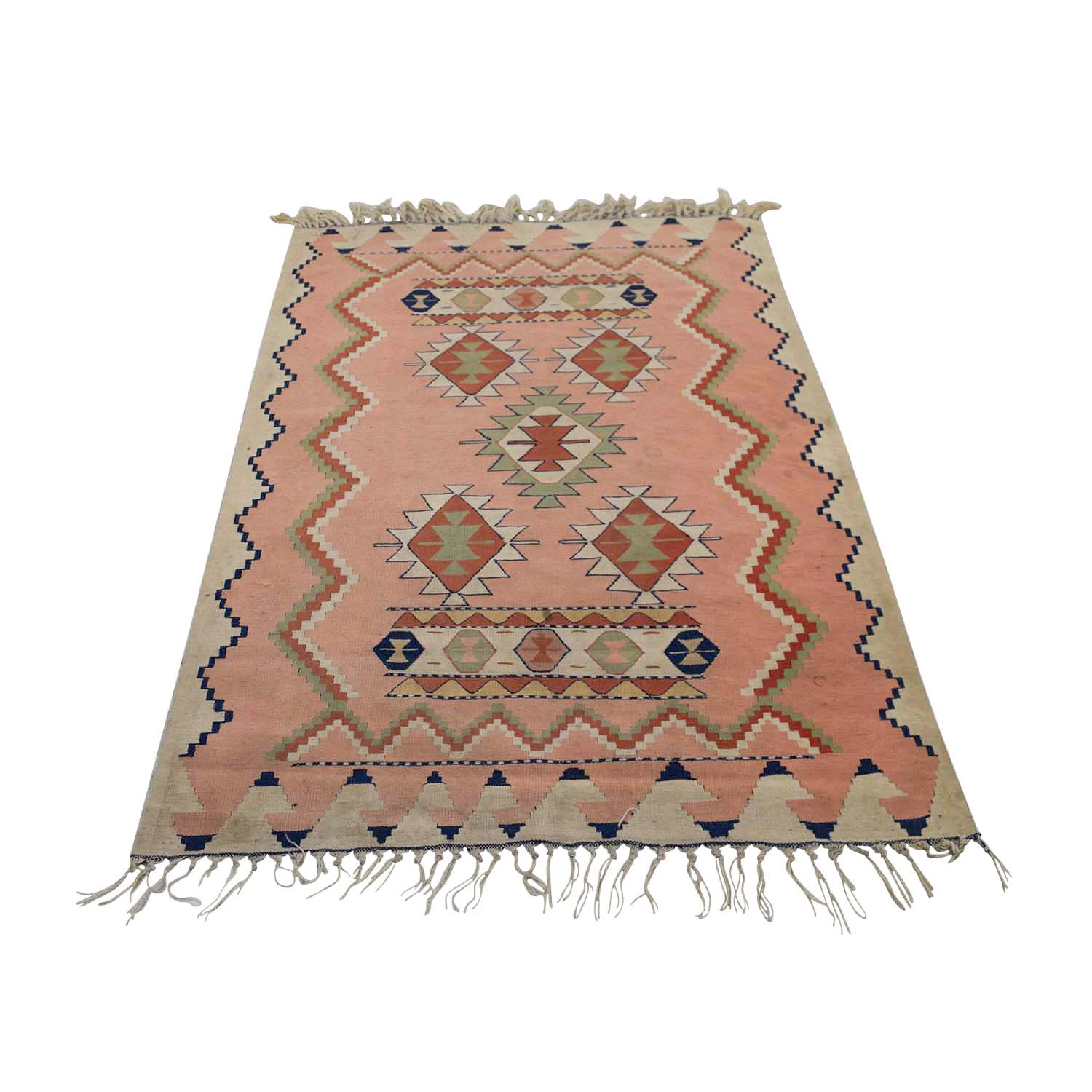 Southwest Pink Area Rug