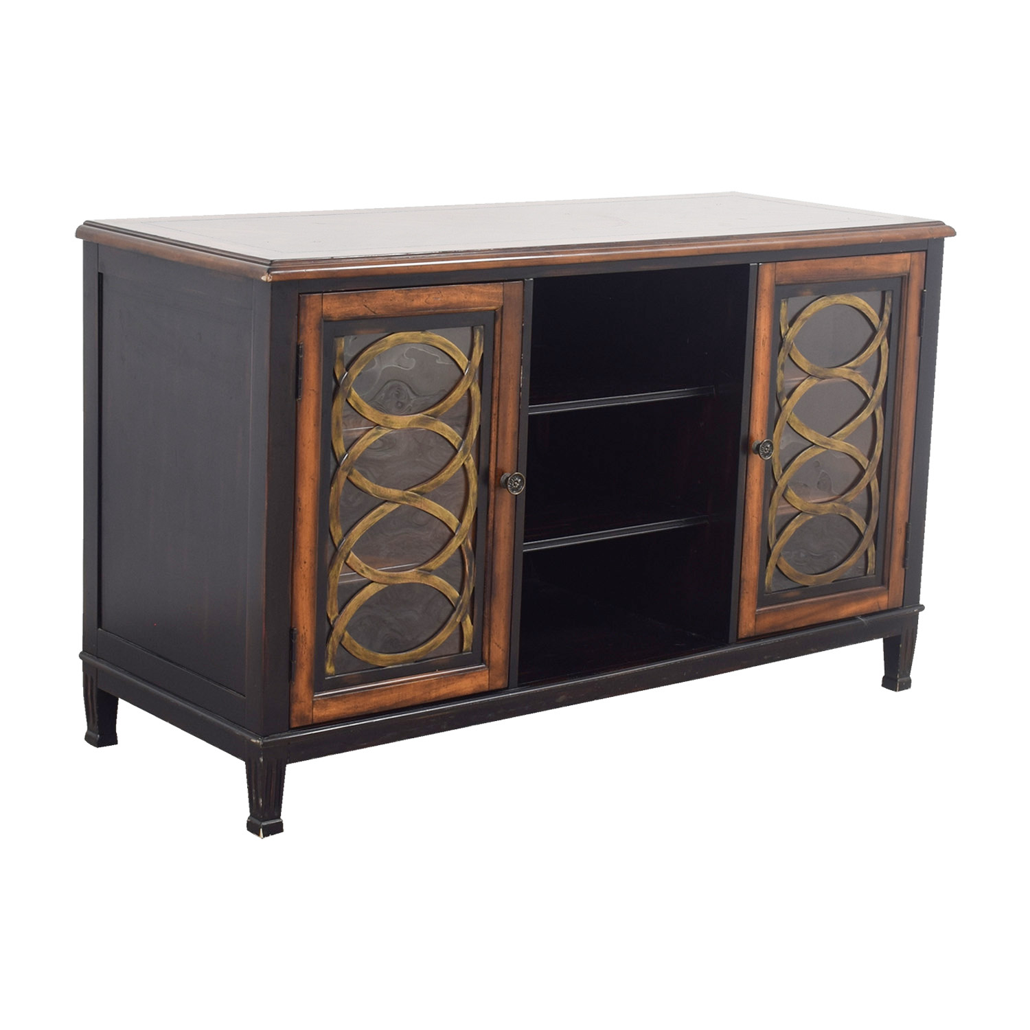 85 off horchow horchow tv media console storage for Tv console with storage