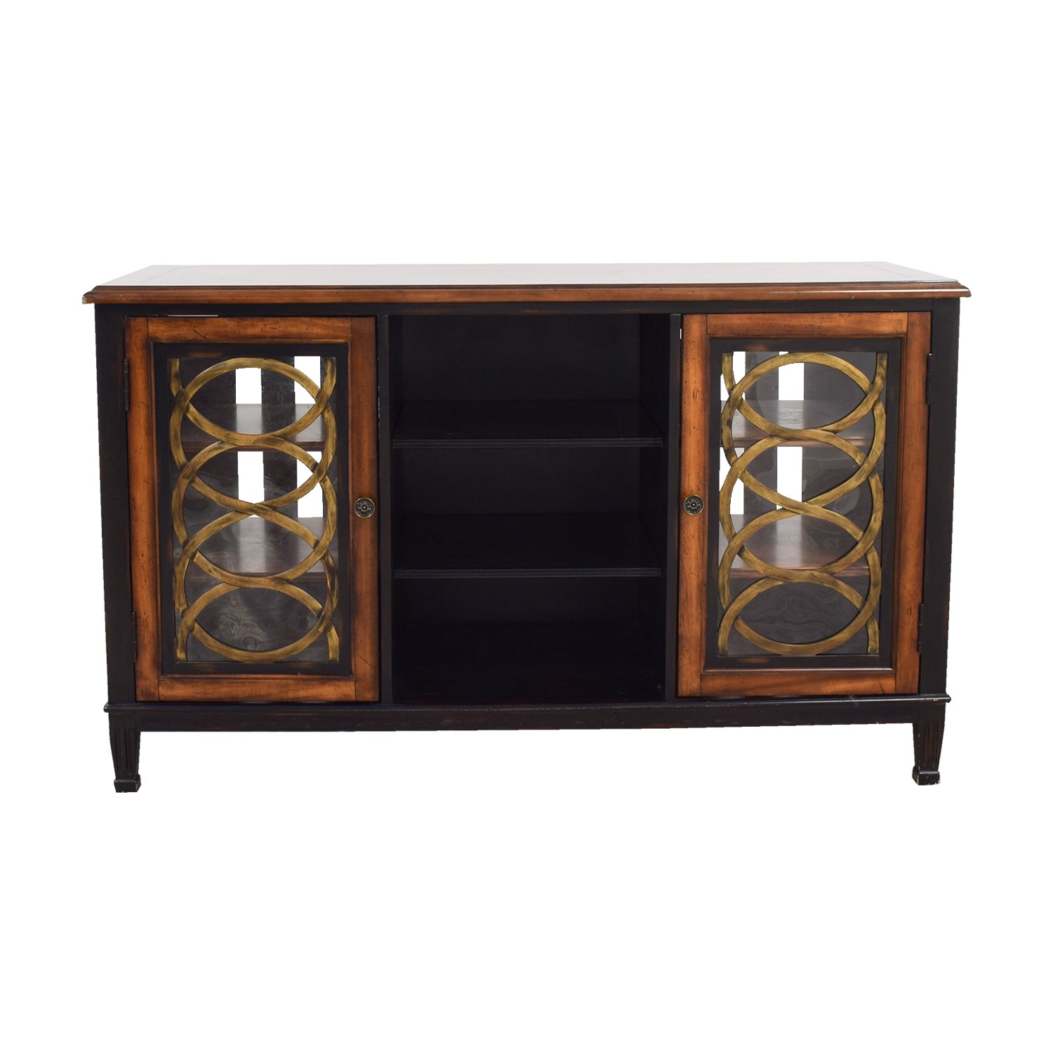 shop Horchow TV Media Console Horchow
