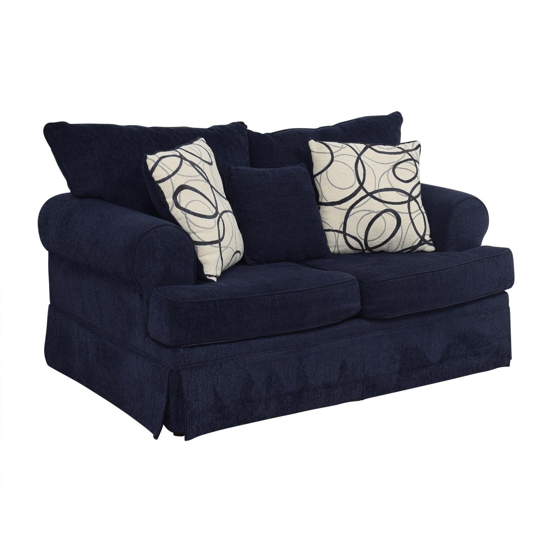 84 Off Bob S Furniture Bob S Furniture Mystic Navy