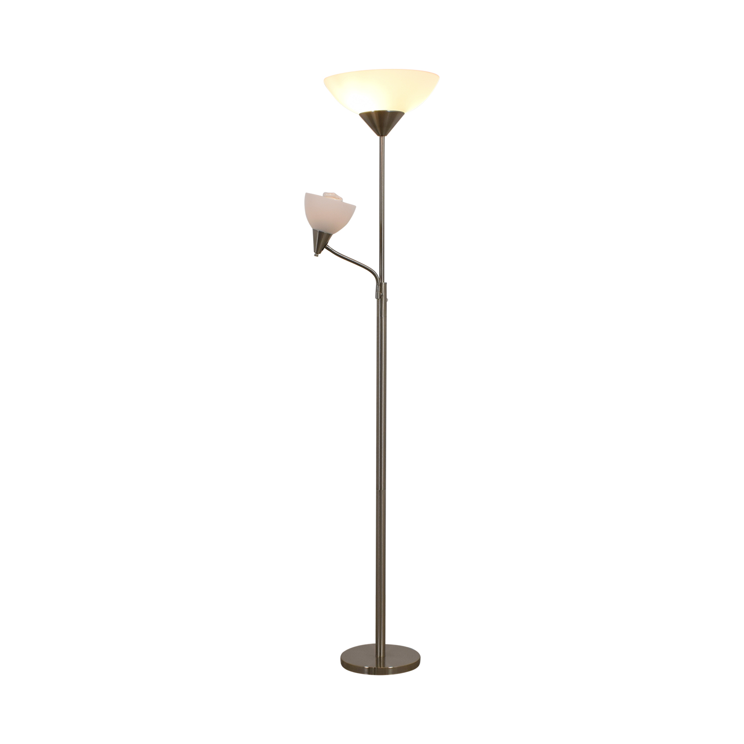 Bed Bath and Beyond Bed Bath and Beyond Silver Floor Lamp Lamps