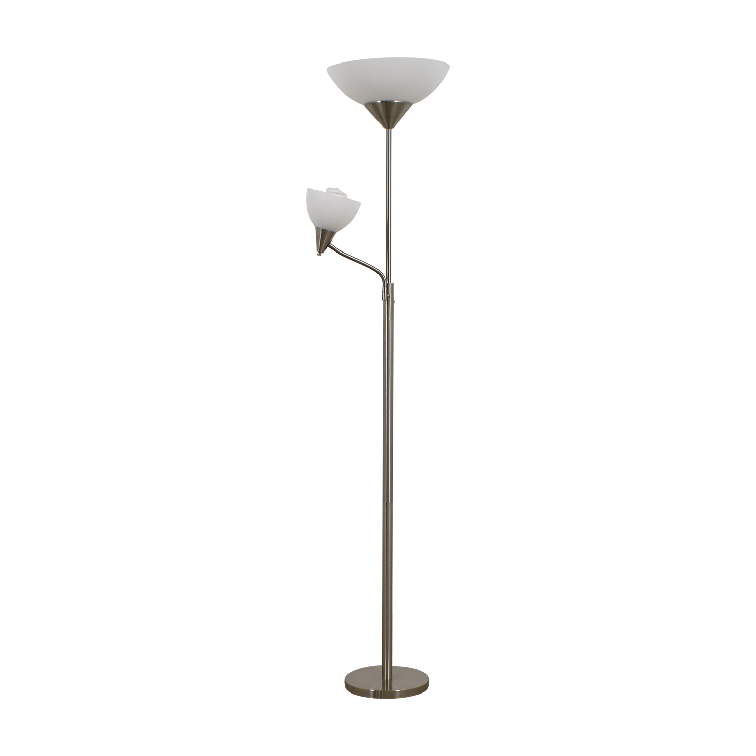 shop Bed Bath and Beyond Silver Floor Lamp Bed Bath and Beyond Lamps