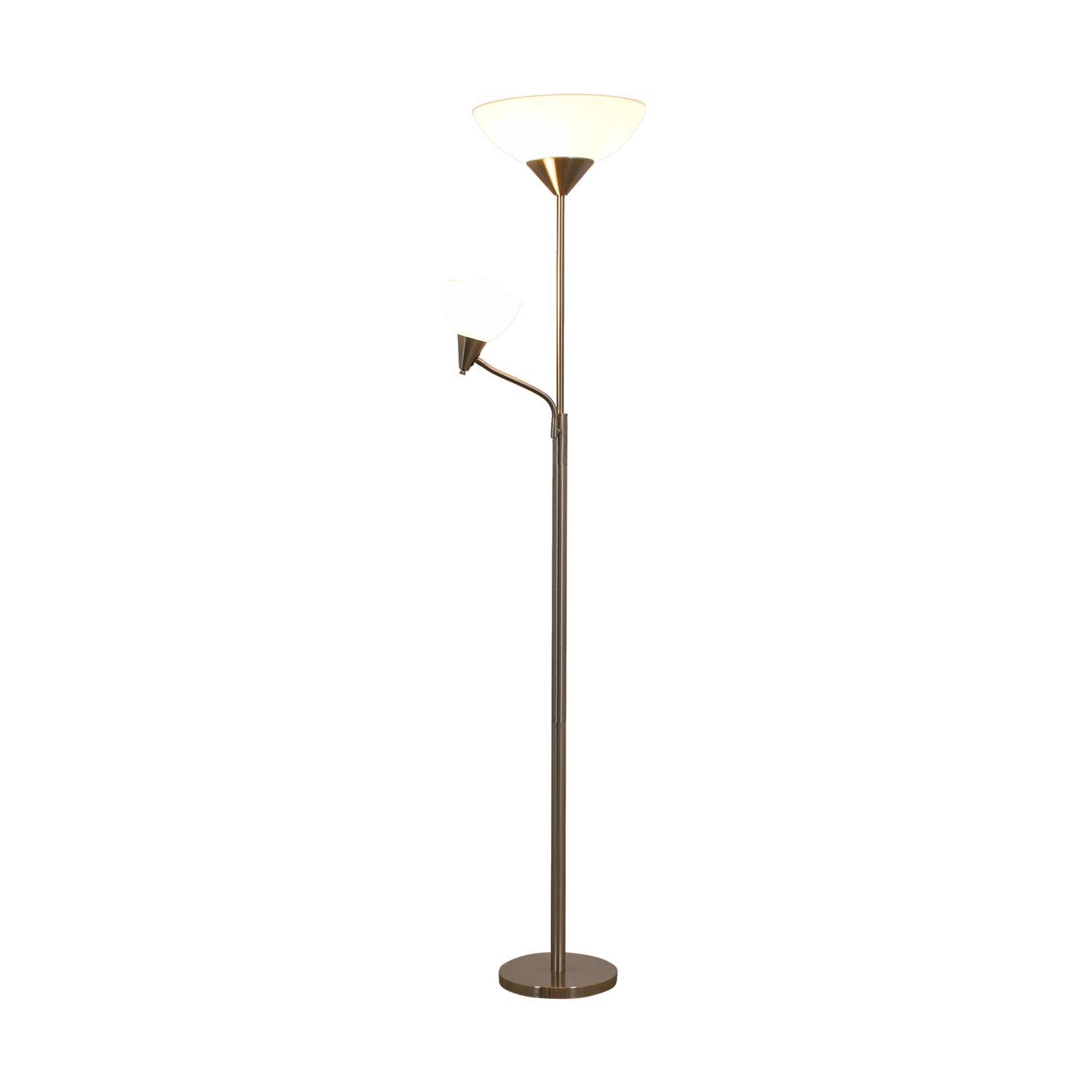 66 off bed bath and beyond bed bath and beyond silver for Shelf floor lamp bed bath and beyond