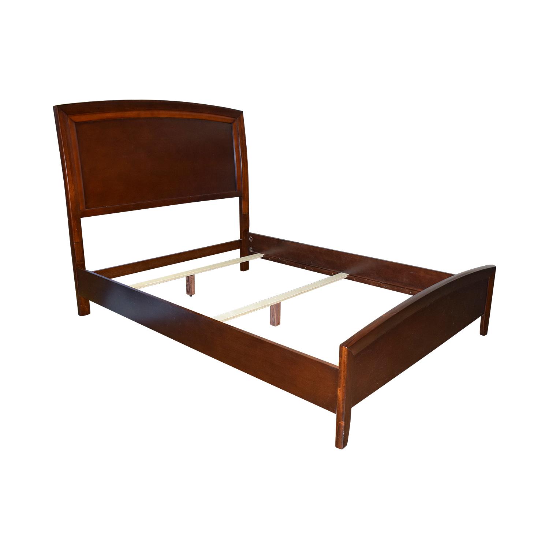 72 off casana furniture casana furniture queen wood bed frame beds. Black Bedroom Furniture Sets. Home Design Ideas