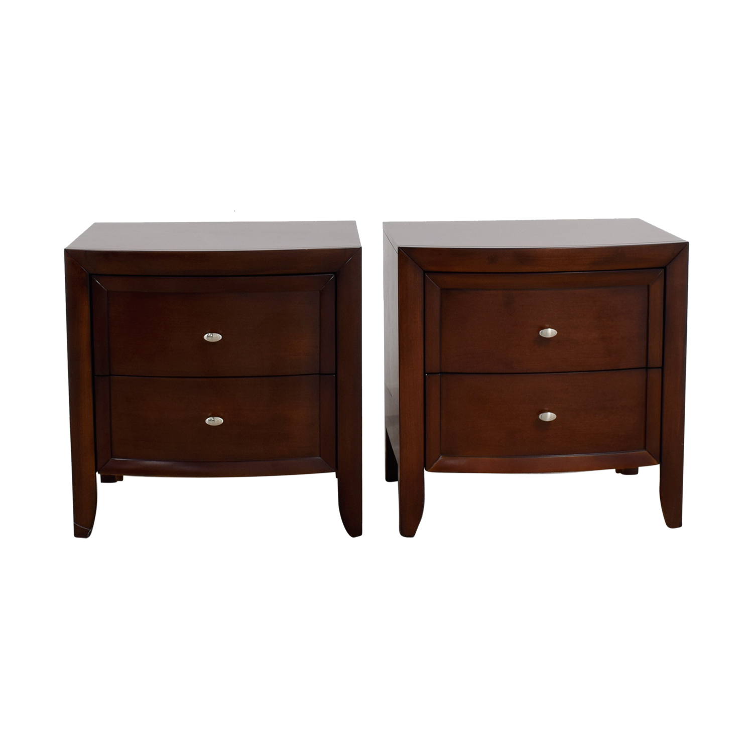 shop Macys Yardley Two-Drawer Nightstands Macys