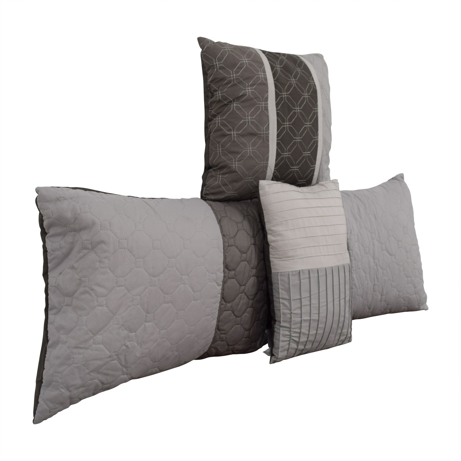 Macy's Macy's Grey Decorative Toss Pillows price