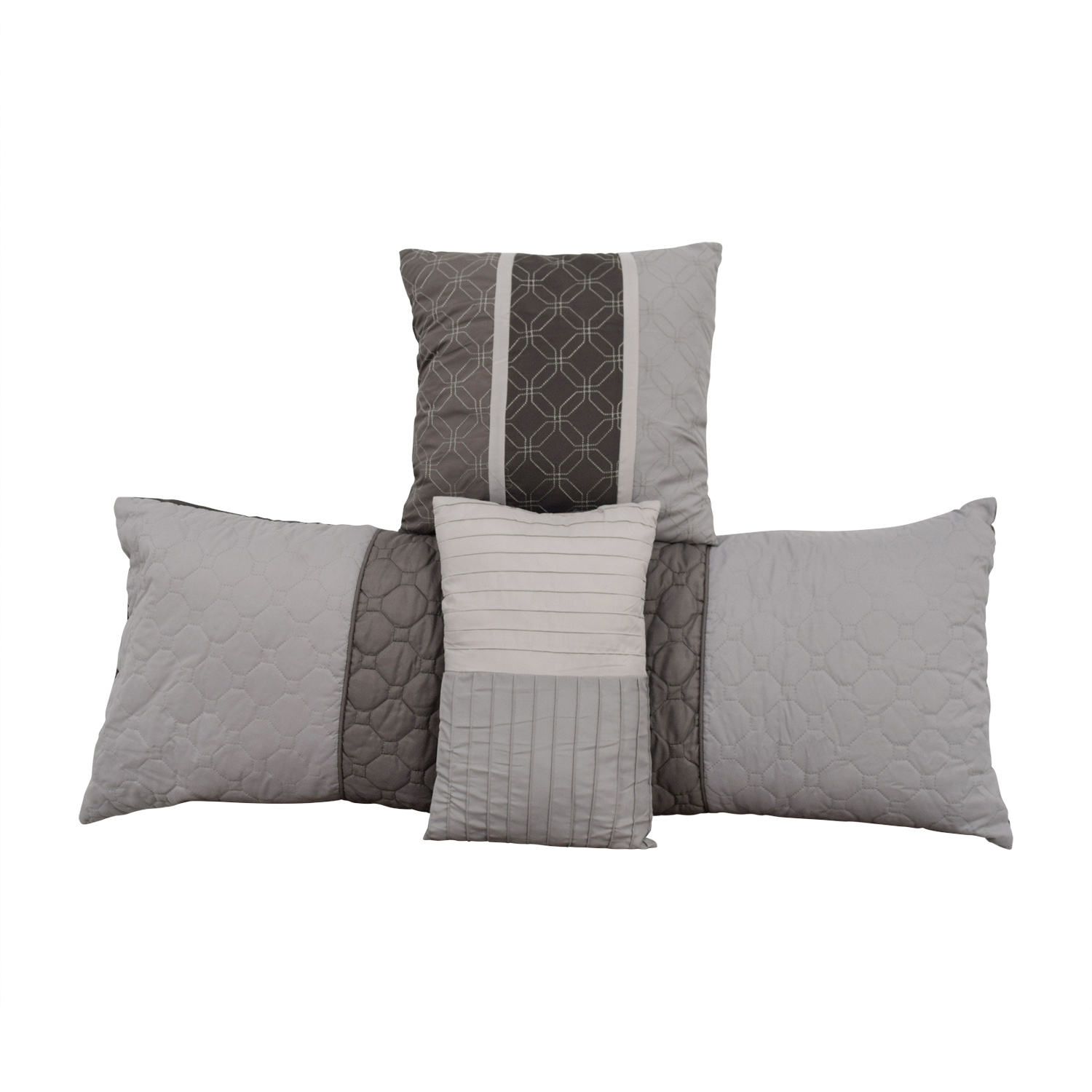 Macy's Macy's Grey Decorative Toss Pillows