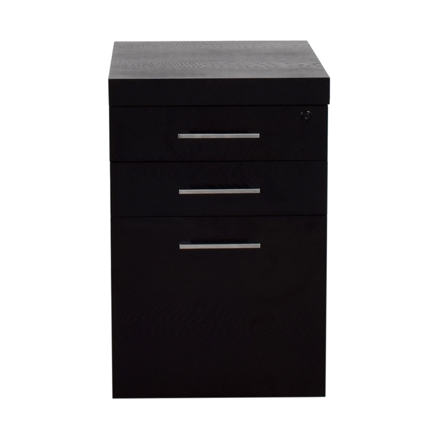 Macys Macys Stockholm Three-Drawer Filing Cabinet second hand