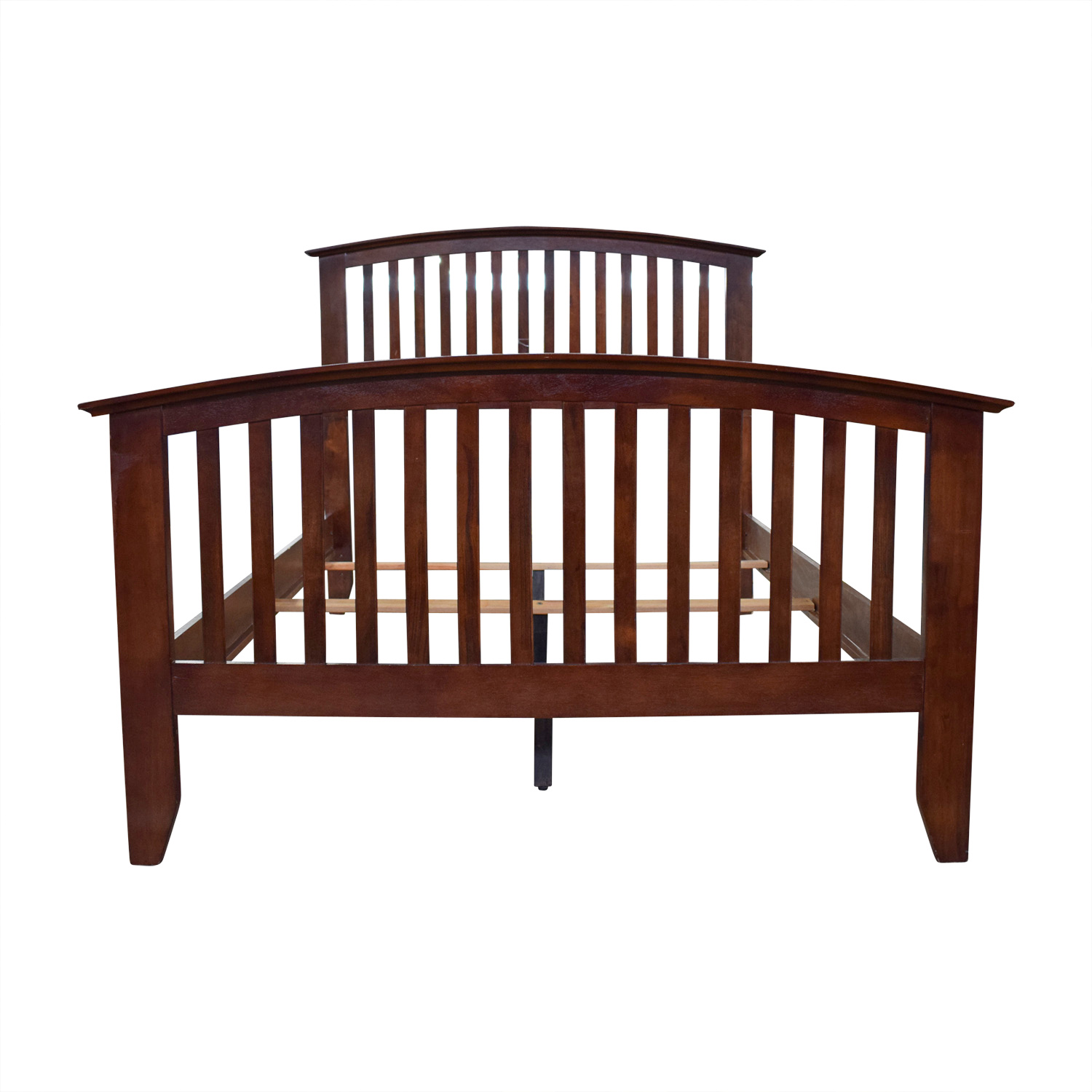 Bobs Furniture Bobs Furniture Wood Caged Full Bed Frame nyc