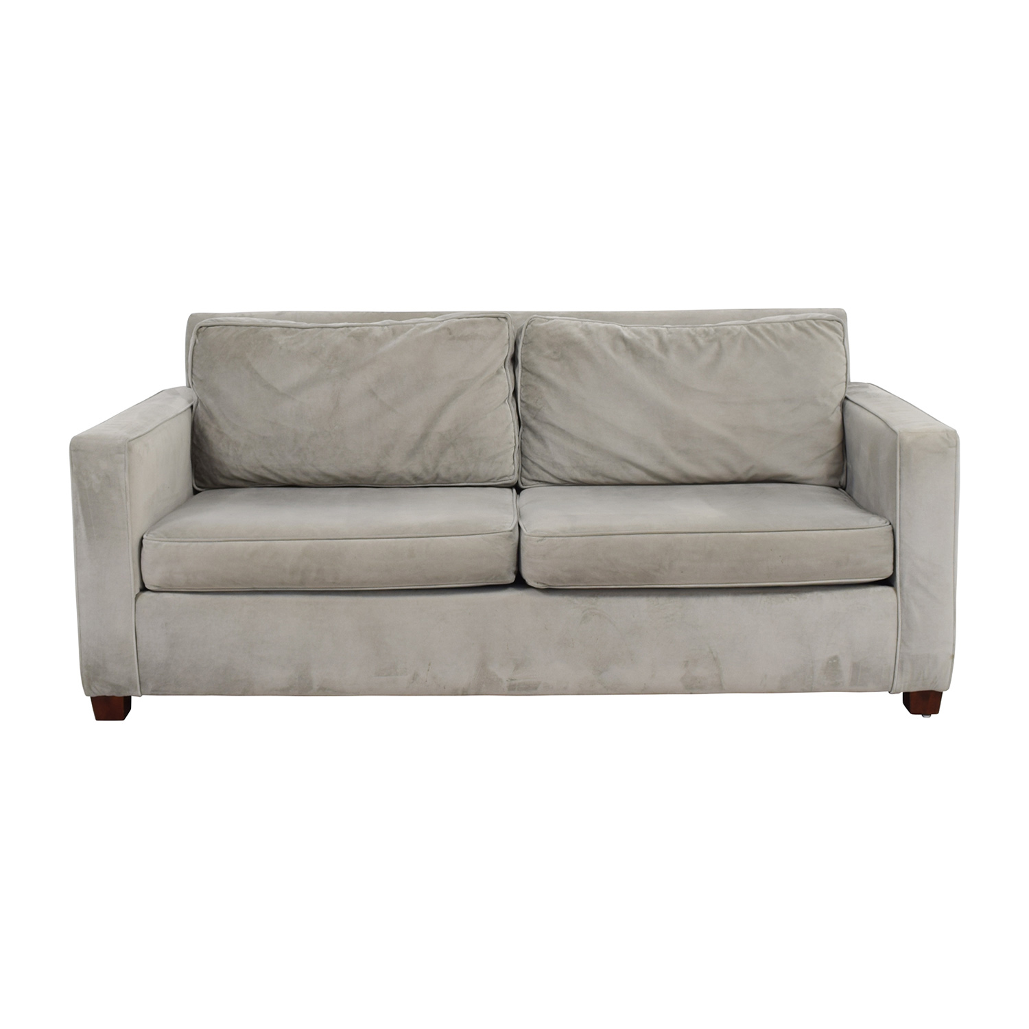 West Elm West Elm Henry Grey Couch on sale