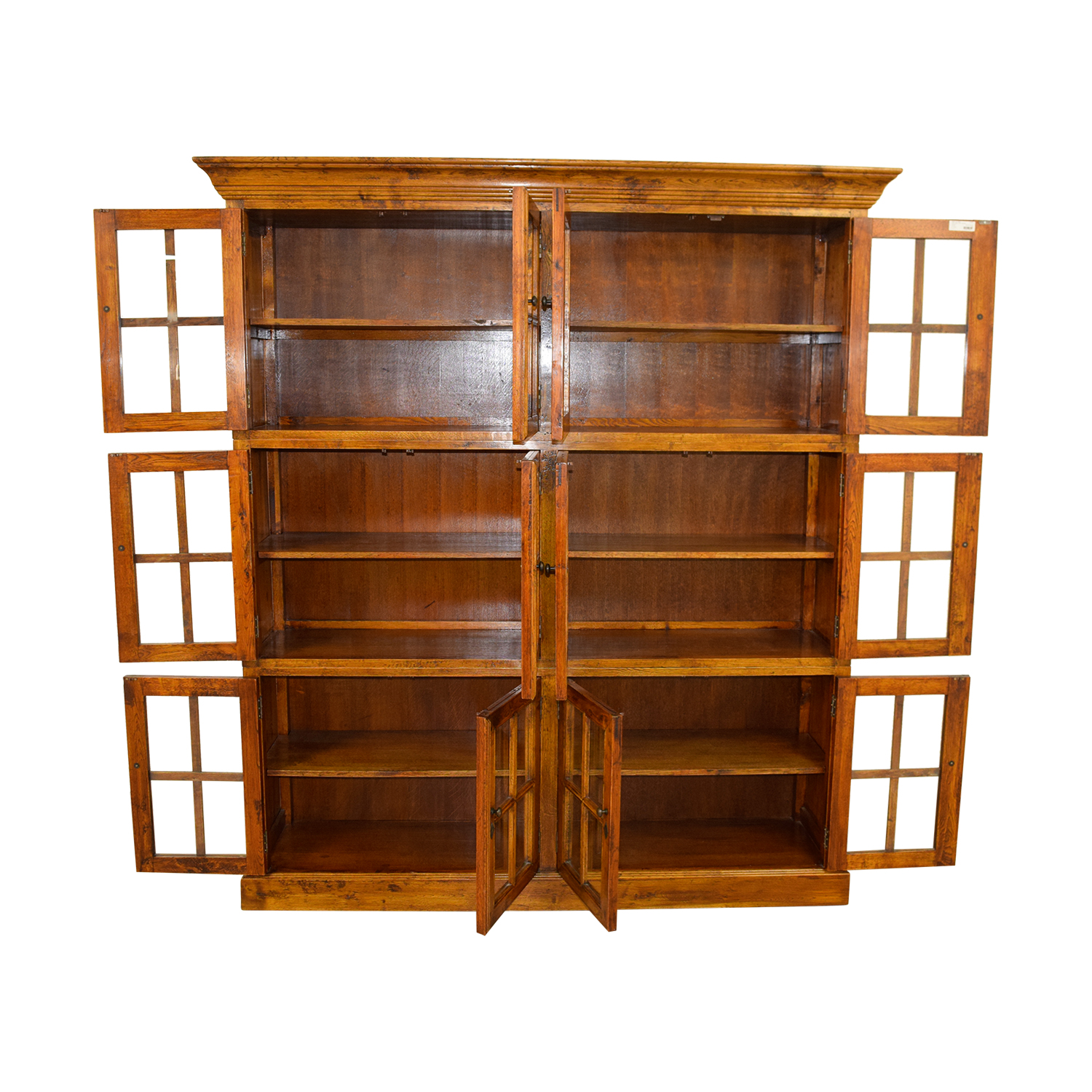 ABC Carpet & Home ABC Carpet & Home Brown Imported Bookcase second hand