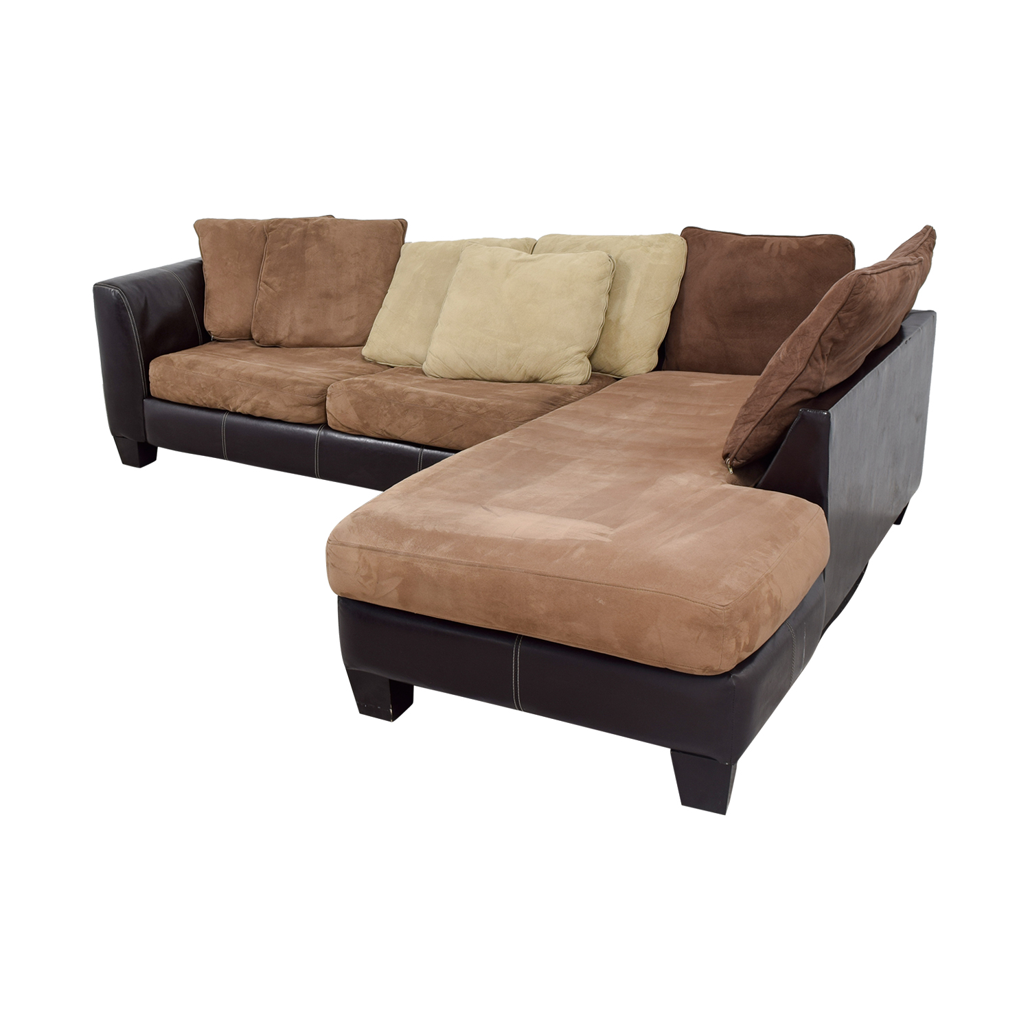 89 Off Albany Industries Albany Industries Brown Chaise