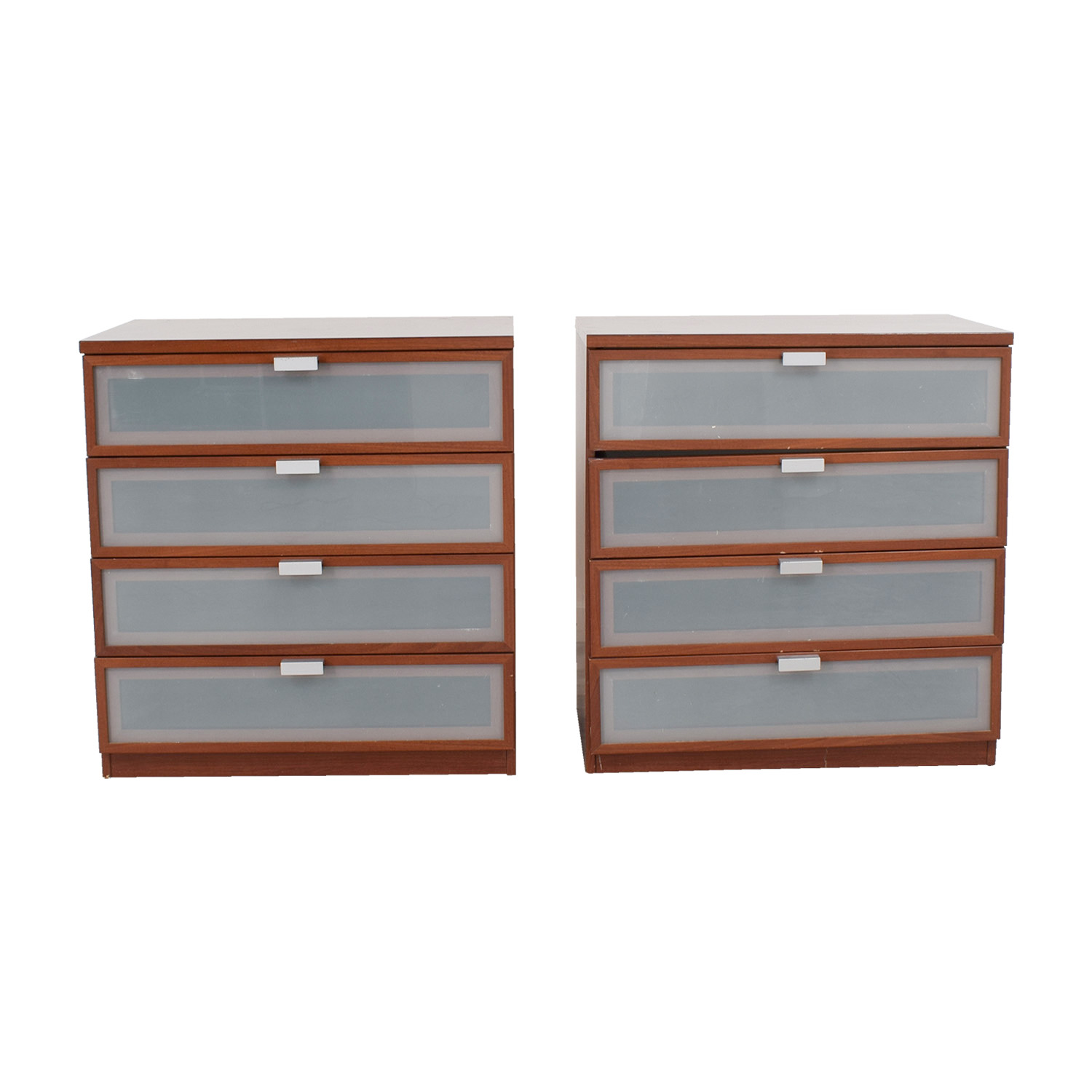 Crate & Barrel Crate & Barrel Wood and Glass Dressers for sale